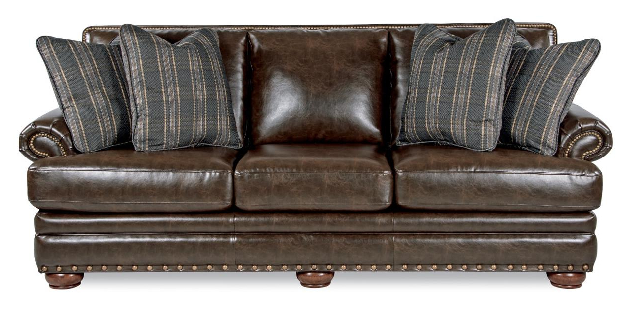 La Z Boy Brennan Traditional Sofa With Comfort Core Cushions And Two Throughout Current Brennan Sofa Chairs (View 2 of 20)