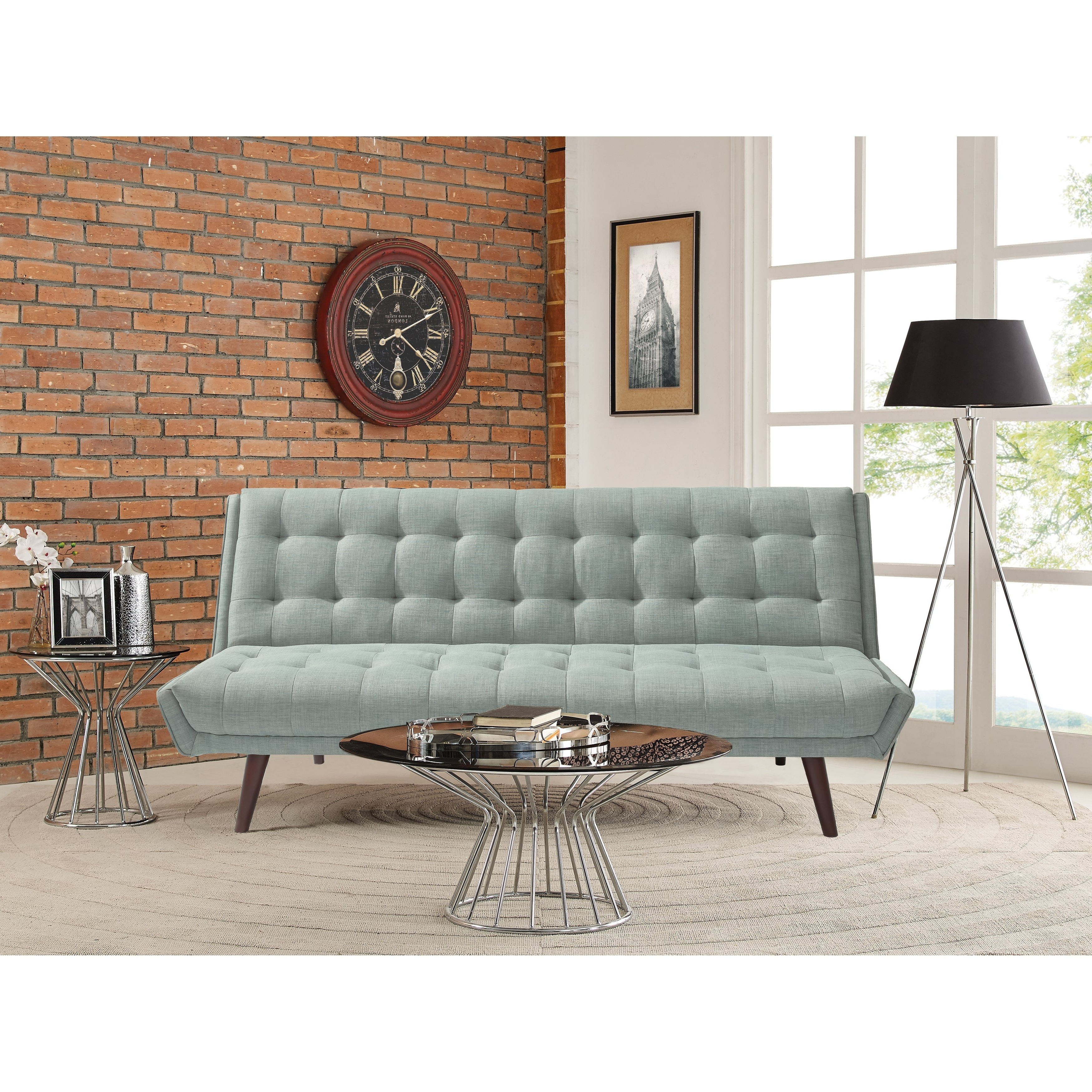 Landry Sofa Chairs Inside Widely Used Shop Relax A Lounger Landry Convertible Sofa – Free Shipping Today (Gallery 18 of 20)