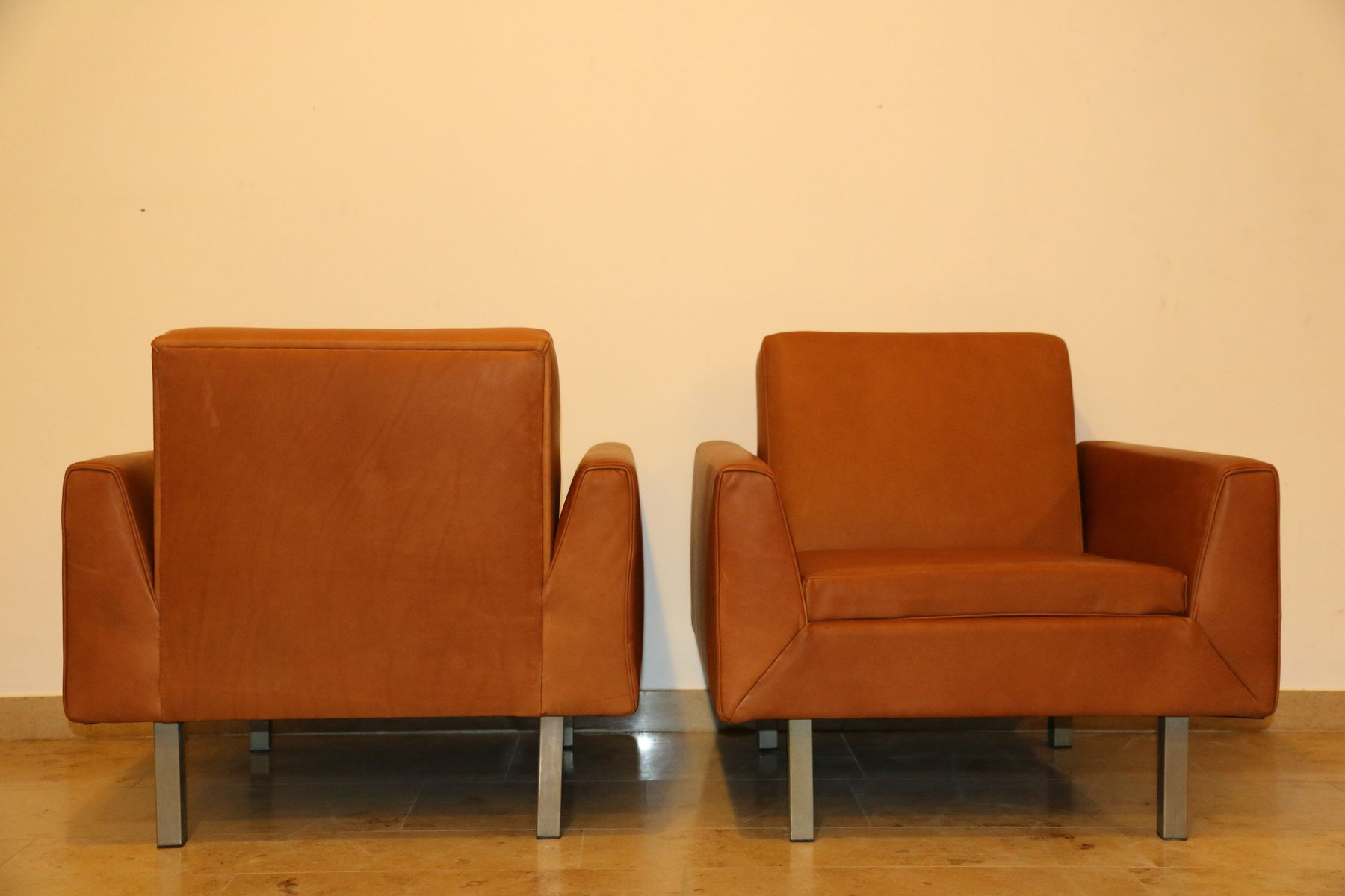 Latest 410 Club Chairstheo Ruth For Artifort, 1956, Set Of 2 For Sale Intended For Theo Ii Swivel Chairs (View 3 of 20)