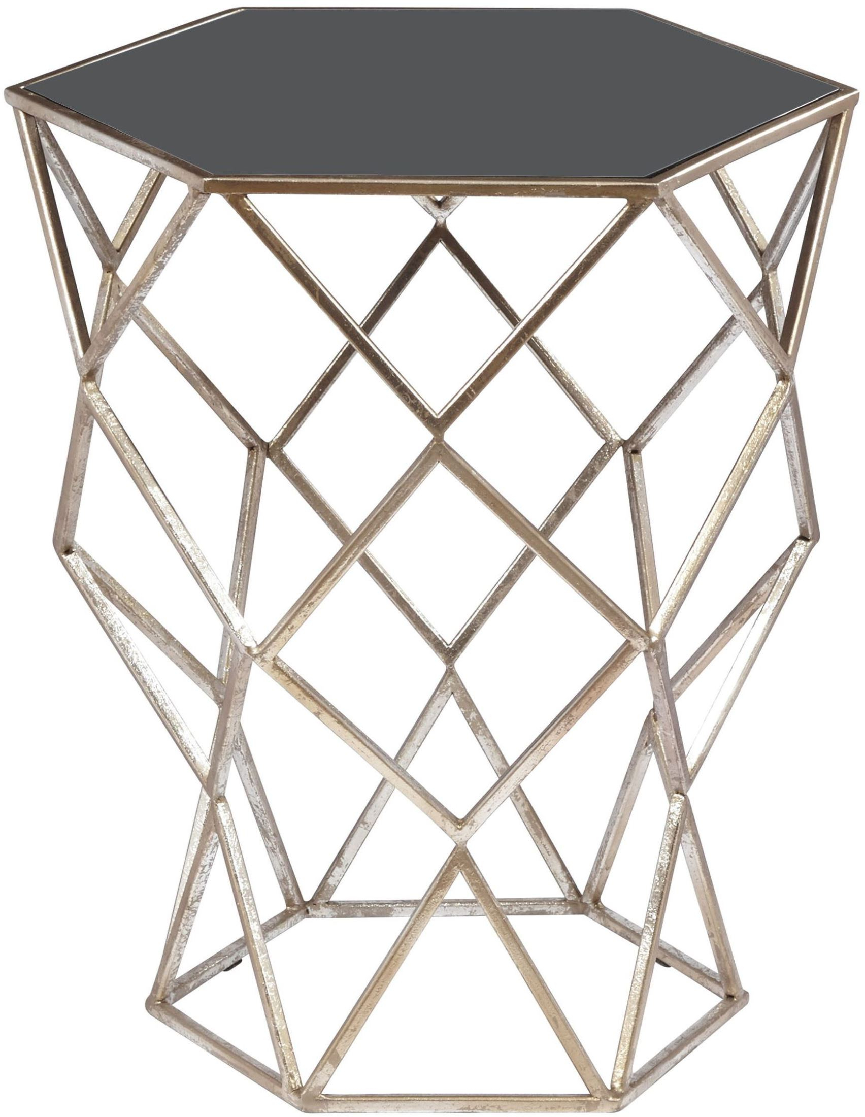 Latest Aquarius Black Accent Table – Accent Tables – Occasional And Accent Intended For Aquarius Dark Grey Sofa Chairs (View 7 of 20)