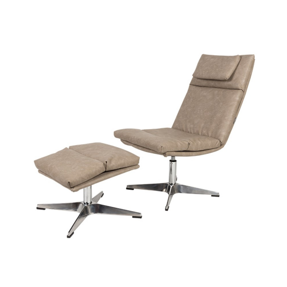 Latest Chill Set Vintage Lounge Chair – Modern Furniture Store In Dublin Within Chill Swivel Chairs With Metal Base (View 6 of 20)