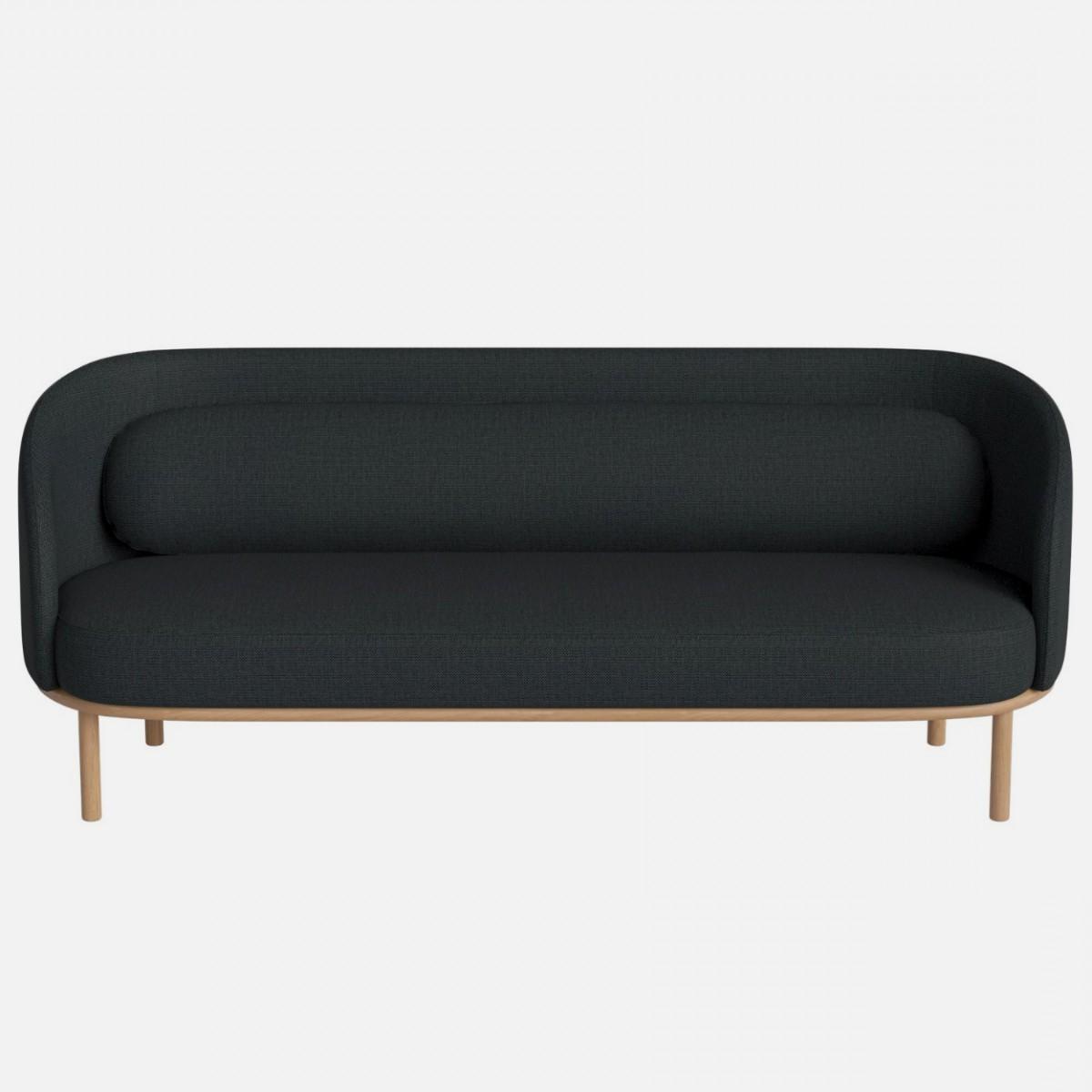 Latest London Dark Grey Sofa Chairs Within Fuuga Sofa 3 Seats London/dark Grey – Bolia (View 9 of 20)
