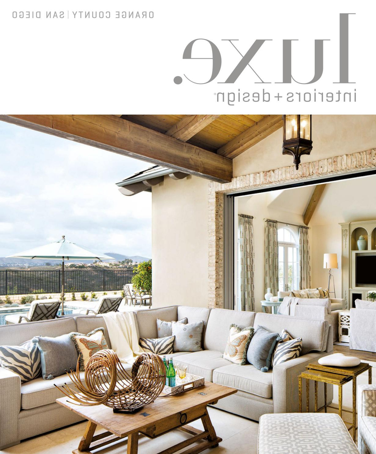Latest Luxe Magazine March 2017 Orange County/san Diegosandow® – Issuu In Chadwick Tomato Swivel Accent Chairs (View 14 of 20)