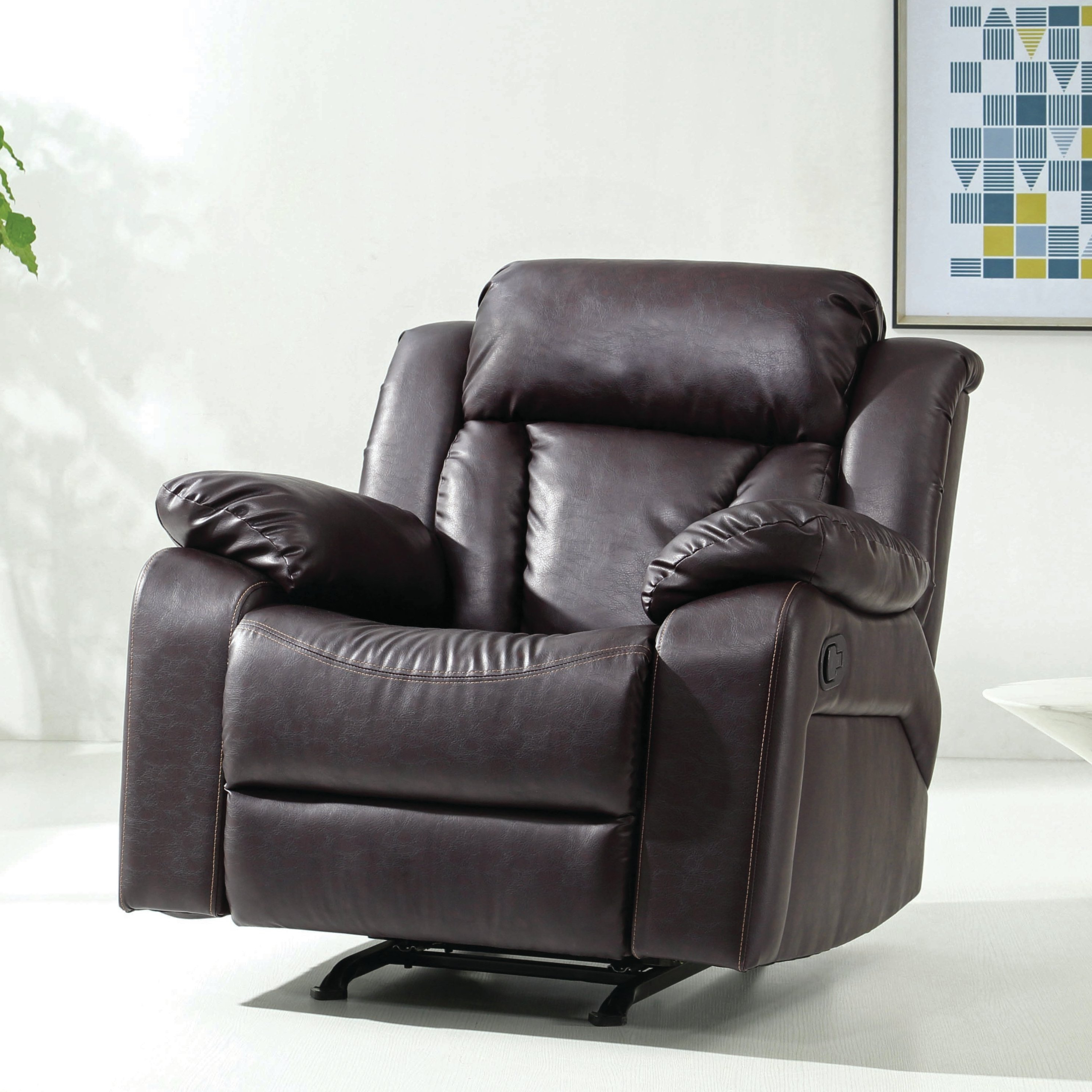 Latitude Run Pavonis Manual Rocker Recliner & Reviews (Gallery 18 of 20)