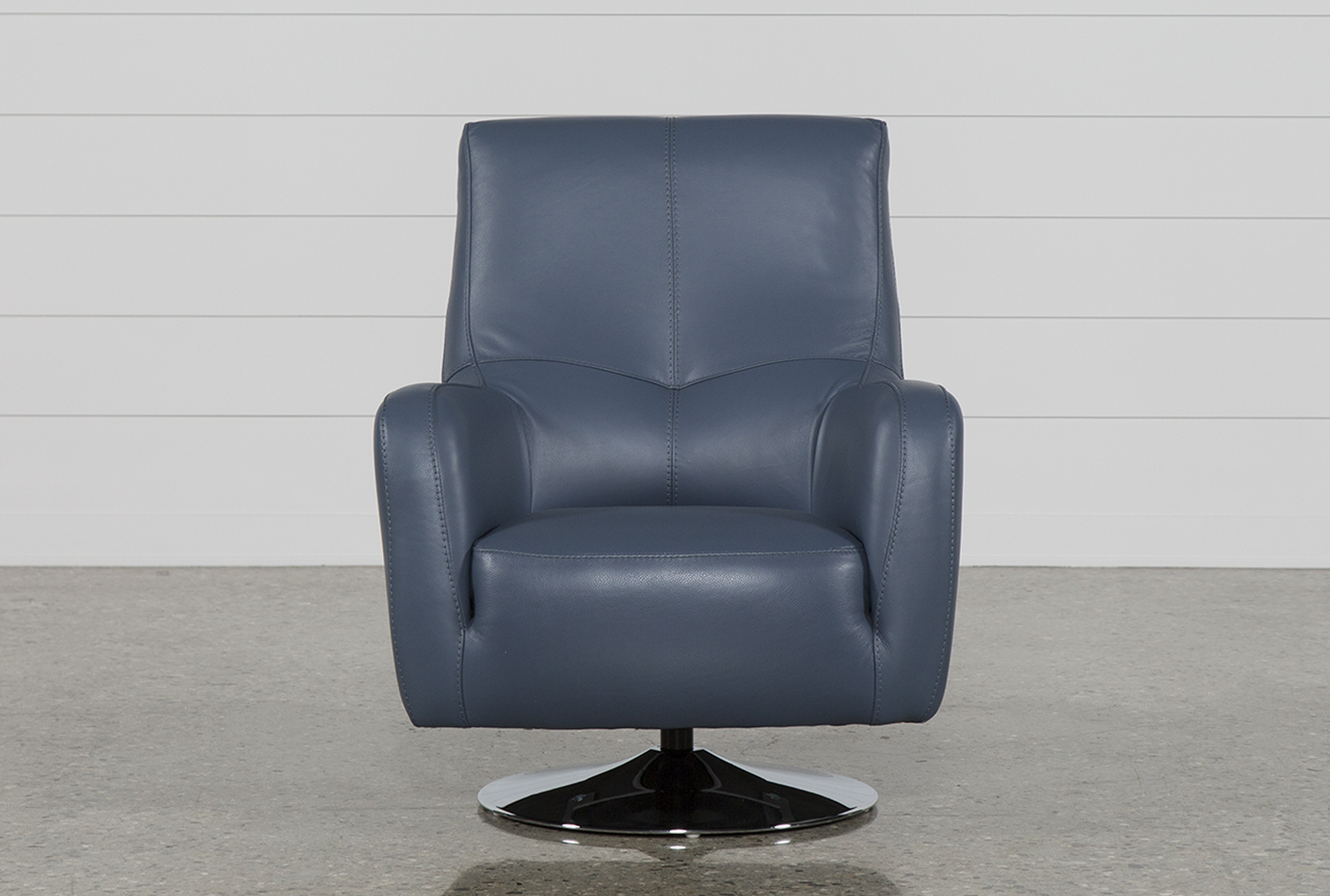 Leather Swivel For Latest Amala Dark Grey Leather Reclining Swivel Chairs (View 9 of 20)