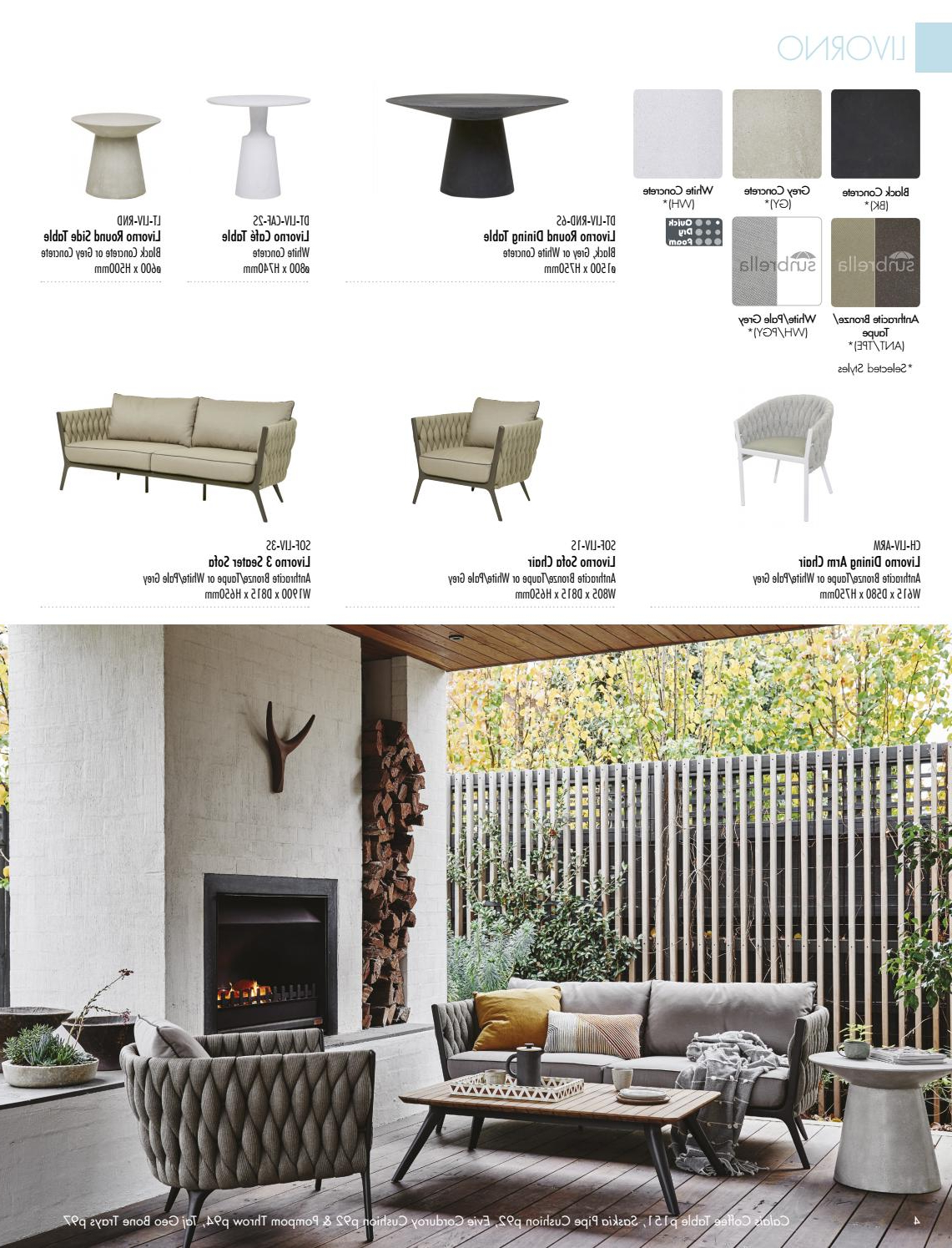 Liv Arm Sofa Chairs Regarding Preferred Globewest Outdoor Catalogue (View 7 of 20)