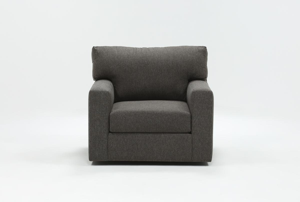 Living Spaces For Alder Grande Ii Swivel Chairs (Gallery 4 of 20)