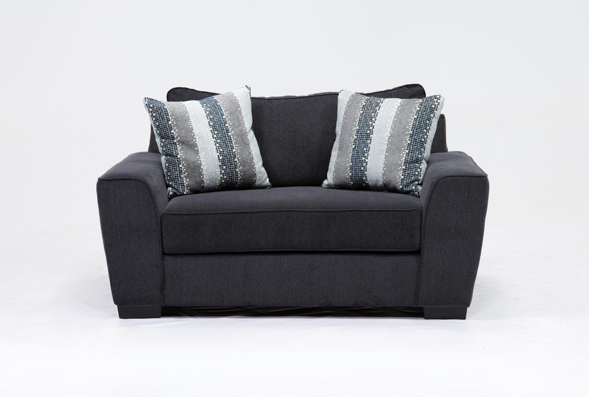 Living Spaces For Most Current Sheldon Oversized Sofa Chairs (View 4 of 20)