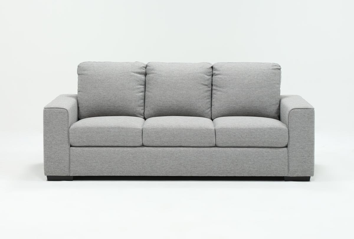 Living Spaces In Most Recently Released Lucy Grey Sofa Chairs (View 4 of 20)