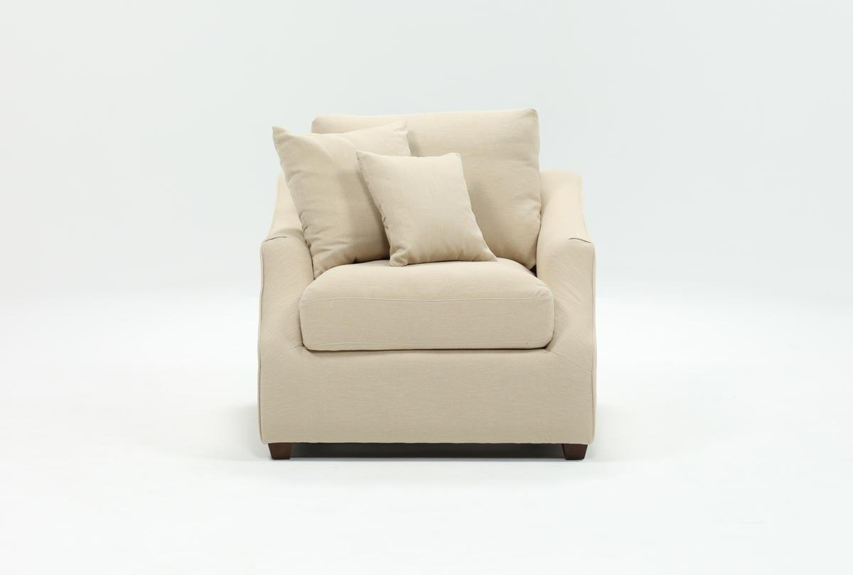 Living Spaces Inside Favorite Magnolia Home Foundation Leather Sofa Chairs (View 9 of 20)
