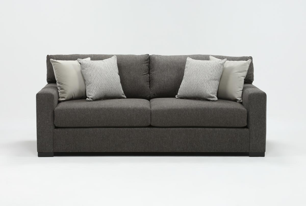 Living Spaces Intended For Preferred Mercer Foam Oversized Sofa Chairs (Gallery 3 of 20)