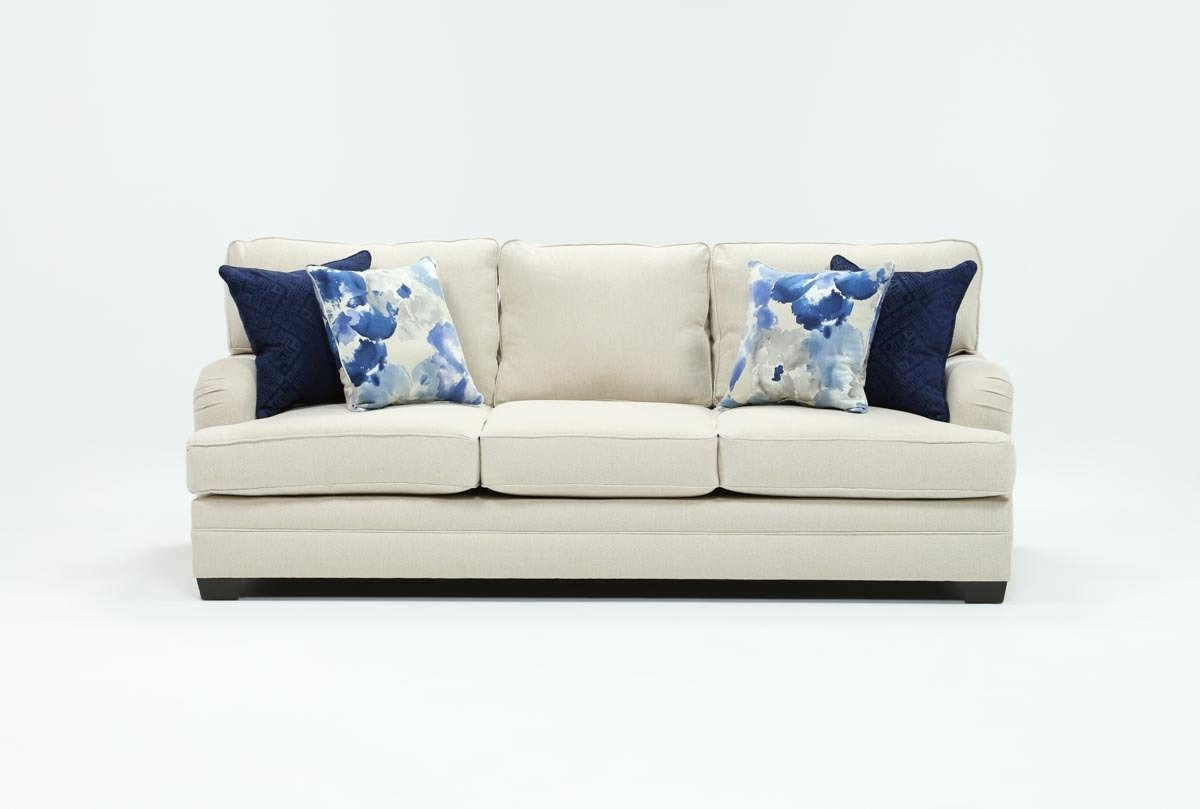 Living Spaces Pertaining To Most Up To Date Marissa Sofa Chairs (View 4 of 20)