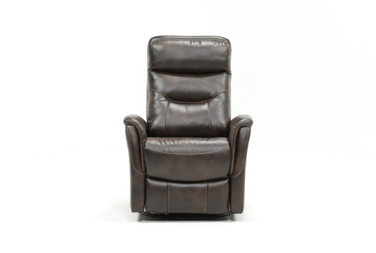 Living Spaces With Regard To Current Gannon Linen Power Swivel Recliners (View 8 of 20)