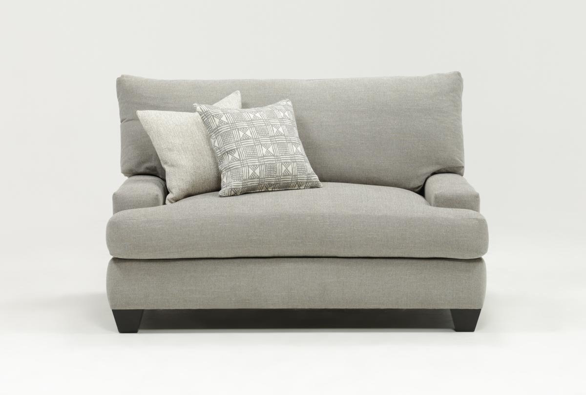 Living Spaces Within Well Liked Mesa Foam Oversized Sofa Chairs (Gallery 8 of 20)