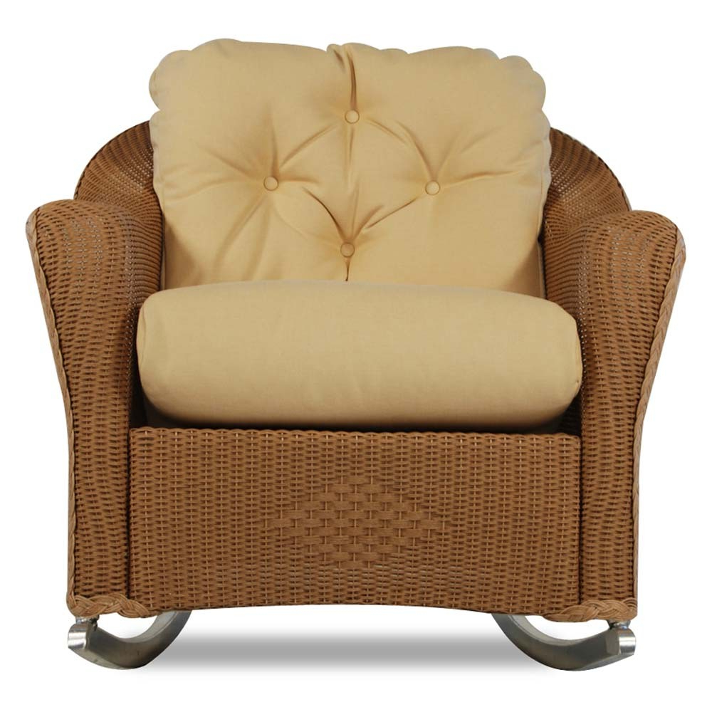 Lloyd Flanders Reflections Wicker Lounge Rocker – Special Throughout 2018 Sofa Rocking Chairs (Gallery 18 of 20)