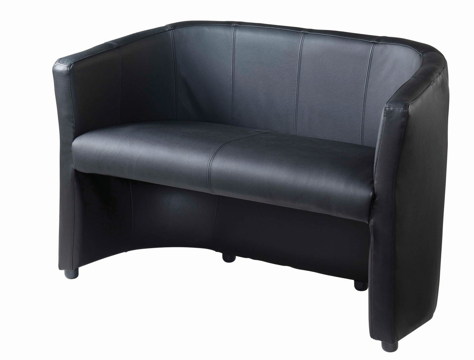 London Optical Sofa Chairs For Well Known London Leather Faced Reception Seating 2 Seater: Www (View 6 of 20)