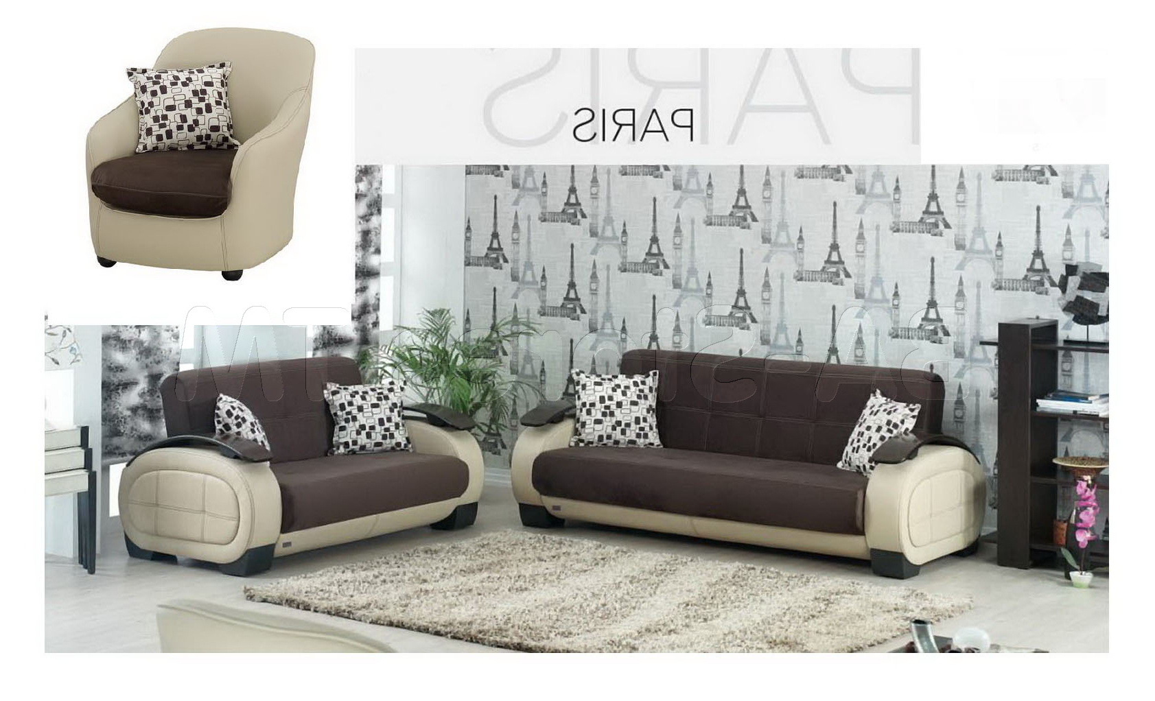 Lovely Sofa And Chair Set 61 On Living Room Sofa Inspiration With With Regard To Most Recent Sofa And Chair Set (View 5 of 20)