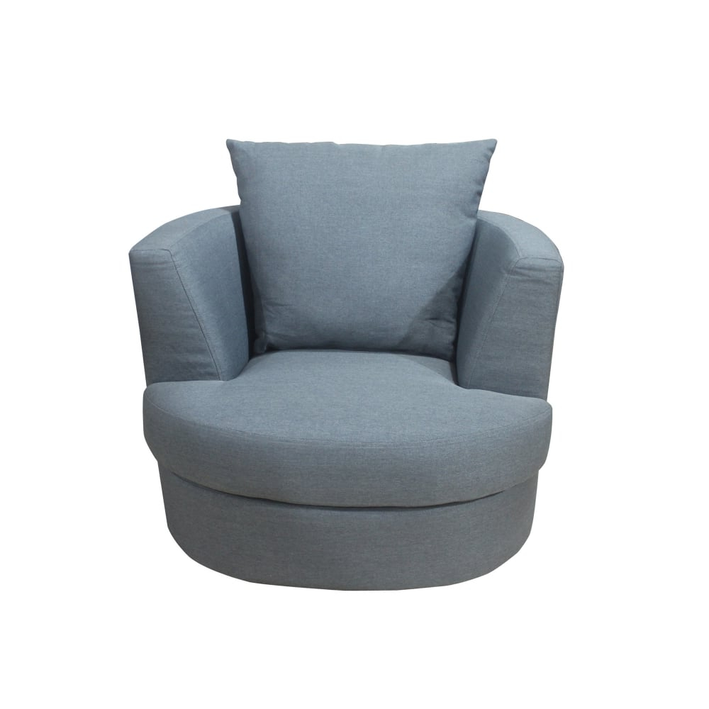 Lpd Furniture Bliss Grey Swivel Chair (View 9 of 20)