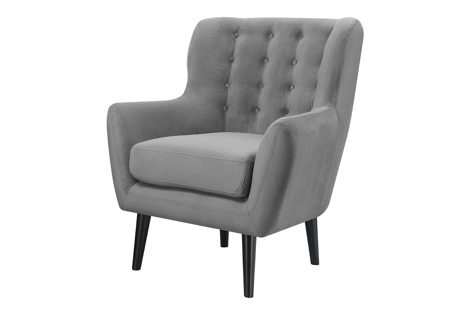 Lucy Dark Grey Sofa Chairs With Newest Accent Chairs (View 17 of 20)