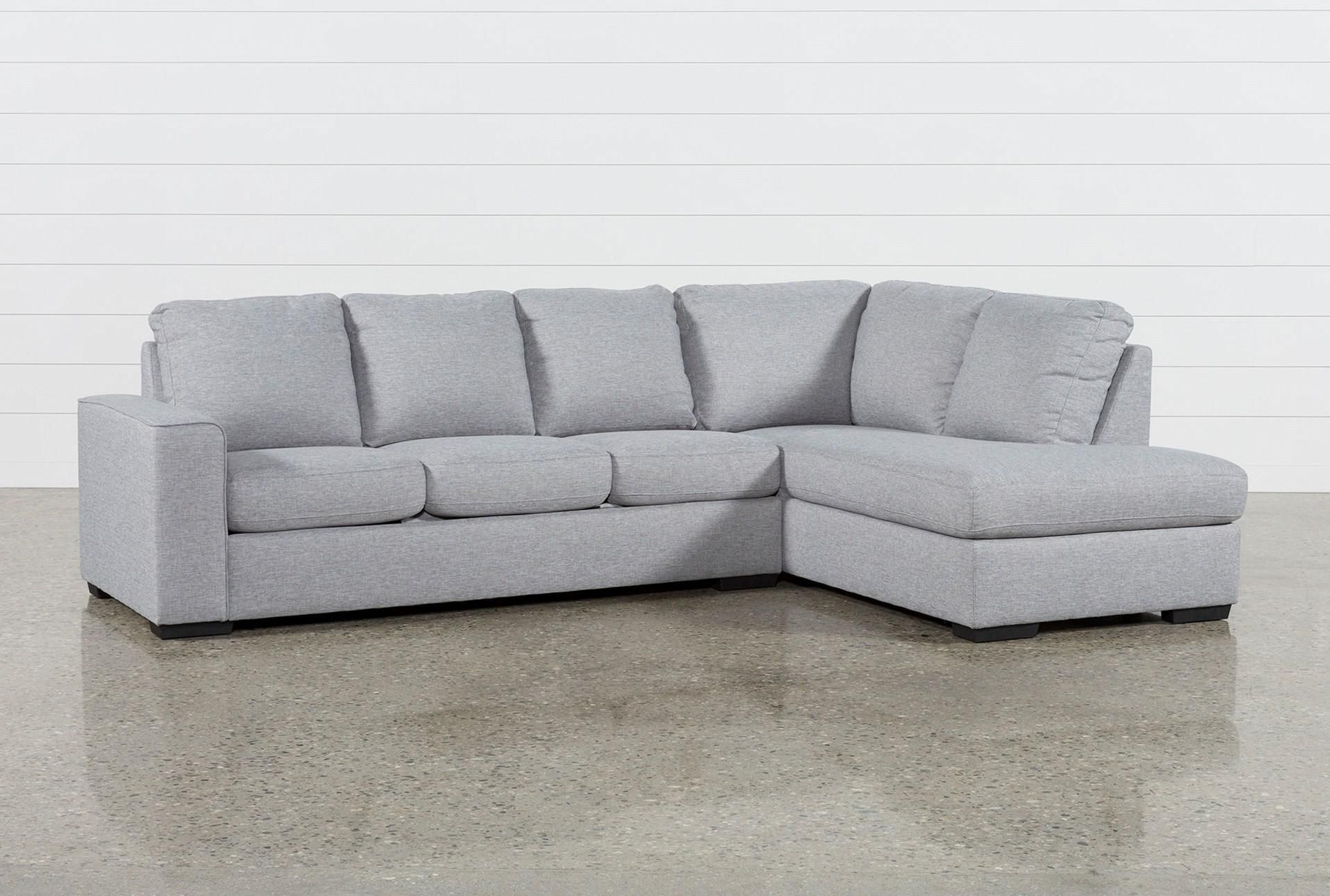 Lucy Grey 2 Piece Sectional W/laf Chaise In  (View 1 of 20)