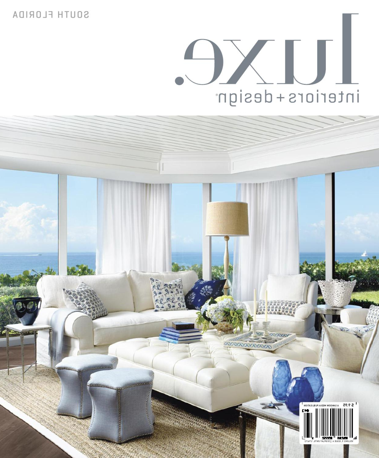 Luxe Interiors + Design Florida 12Sandow Media – Issuu Regarding 2018 Gannon Truffle Power Swivel Recliners (View 12 of 20)
