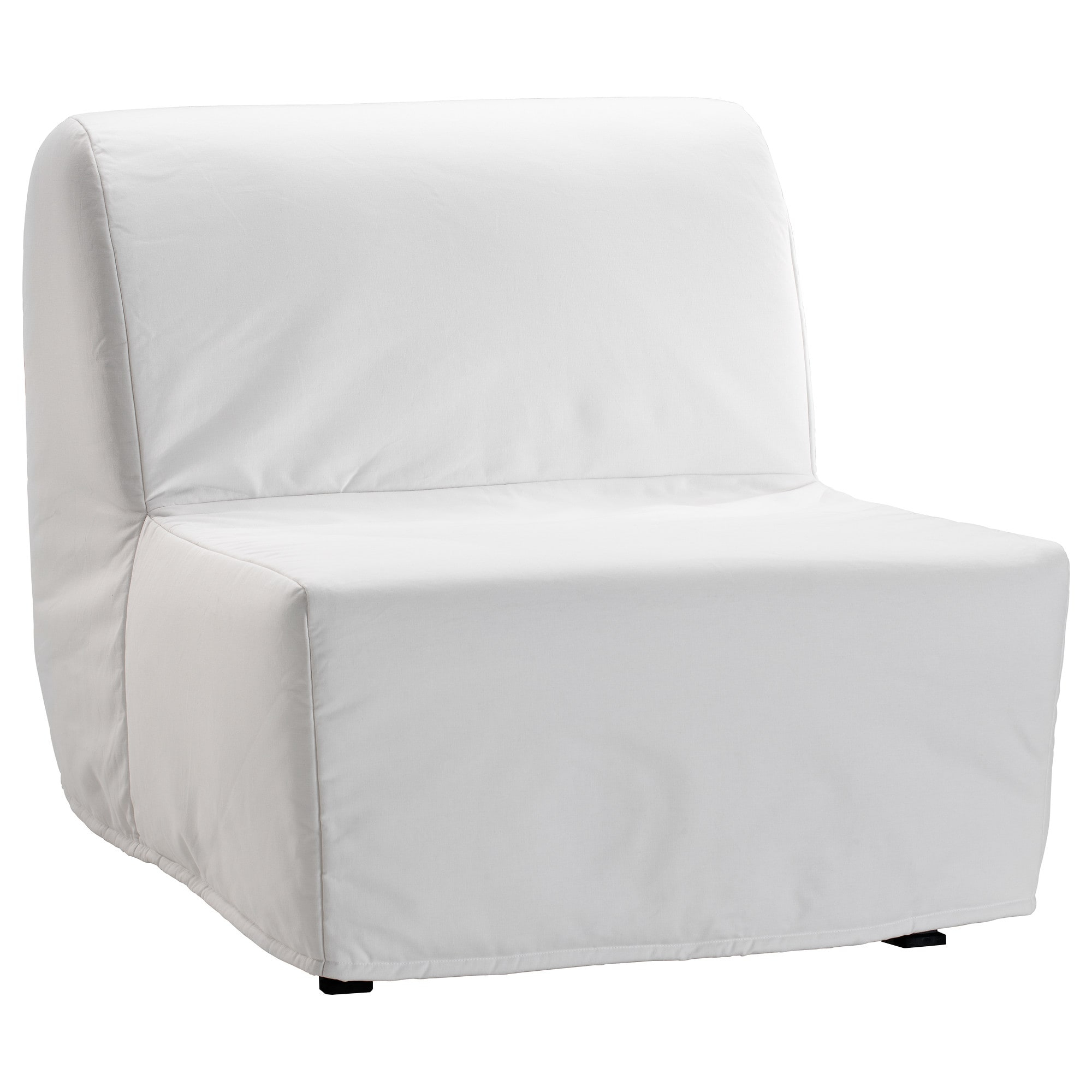 Lycksele Lövås Chair Bed Ransta White – Ikea Within Most Popular Ikea Sofa Chairs (View 11 of 20)