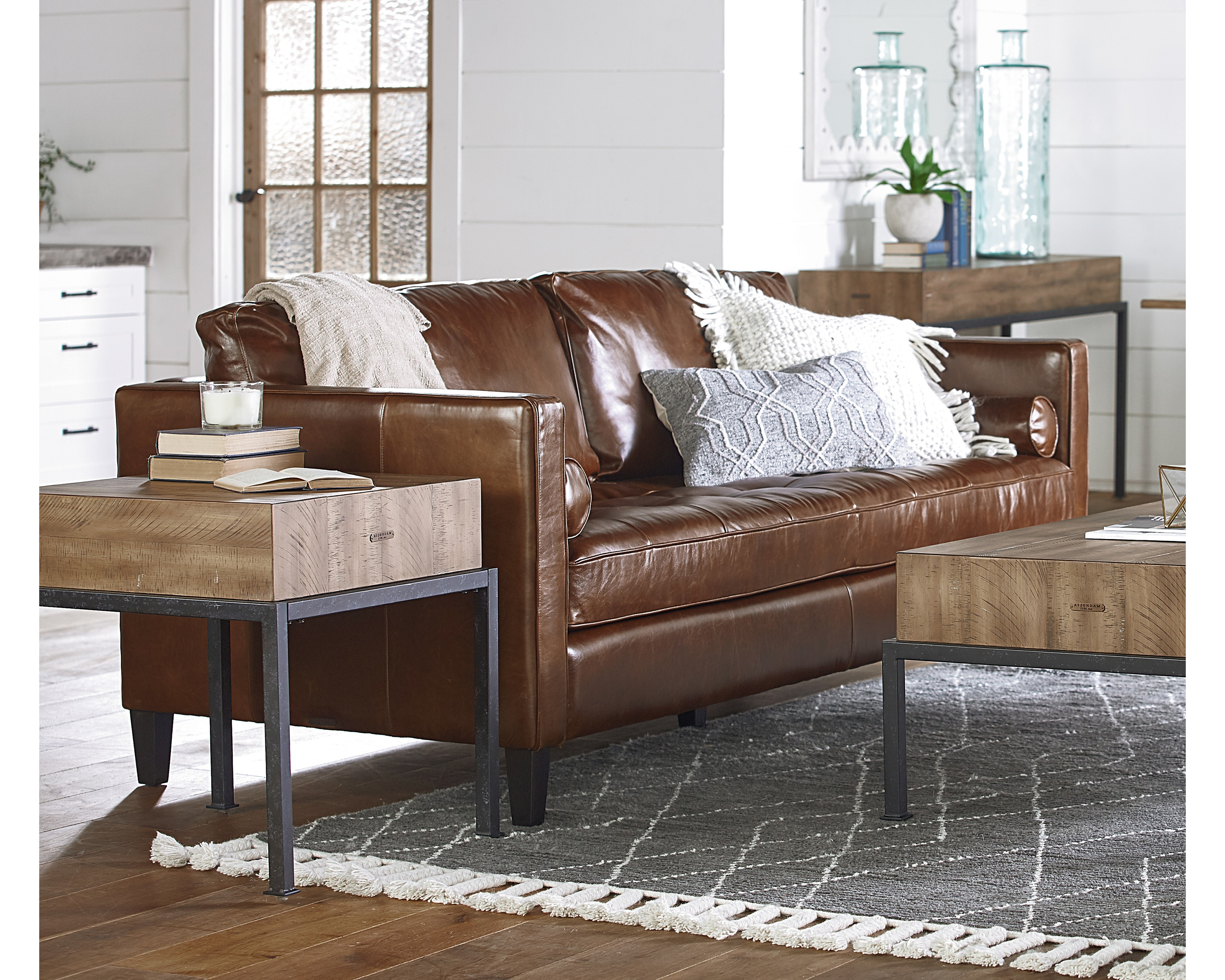 Magnolia Home Dapper Fog Sofa Chairs Intended For Popular Dapper Sofa – Magnolia Home (View 11 of 20)