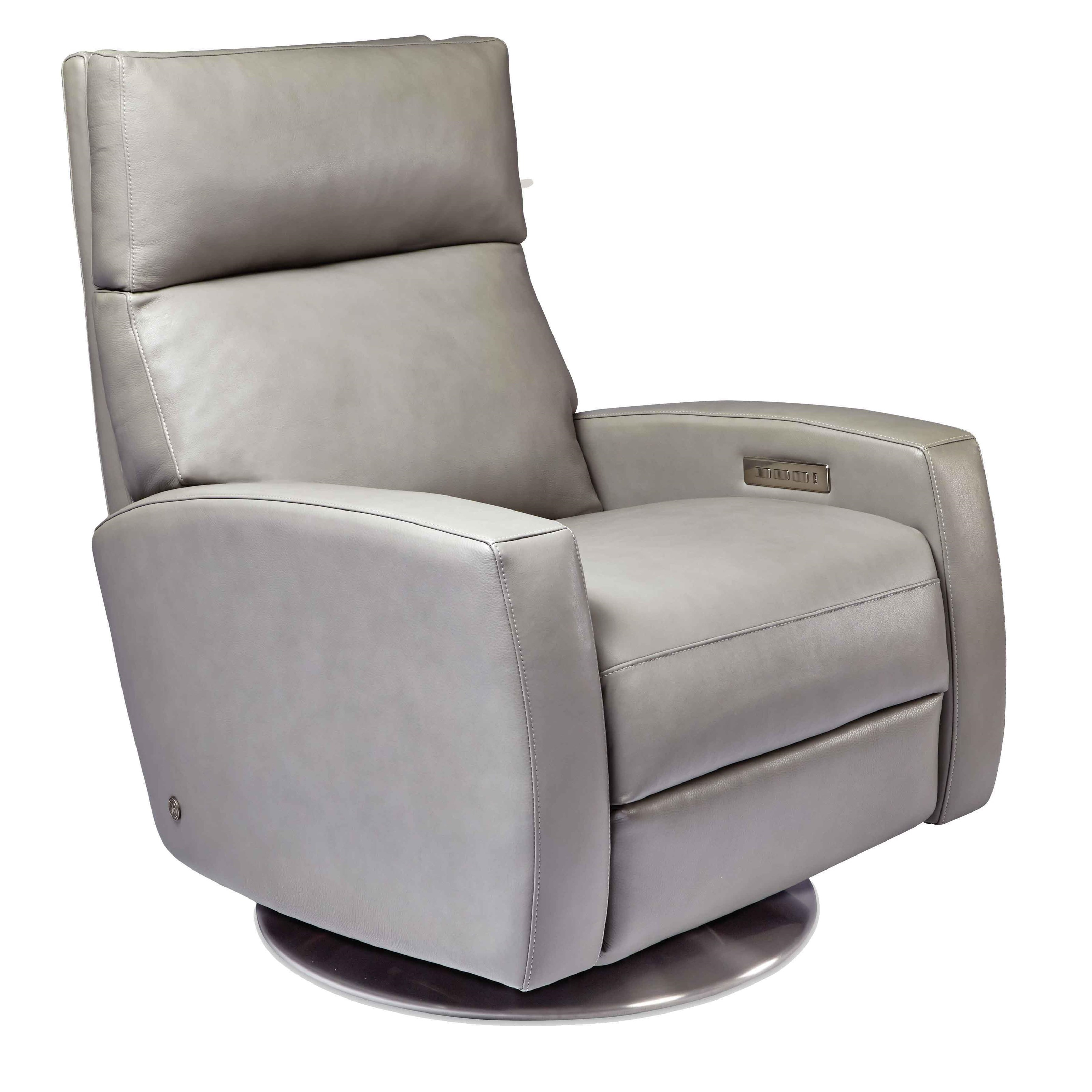 Manor Grey Swivel Chairs Within Favorite Chairs (View 8 of 20)