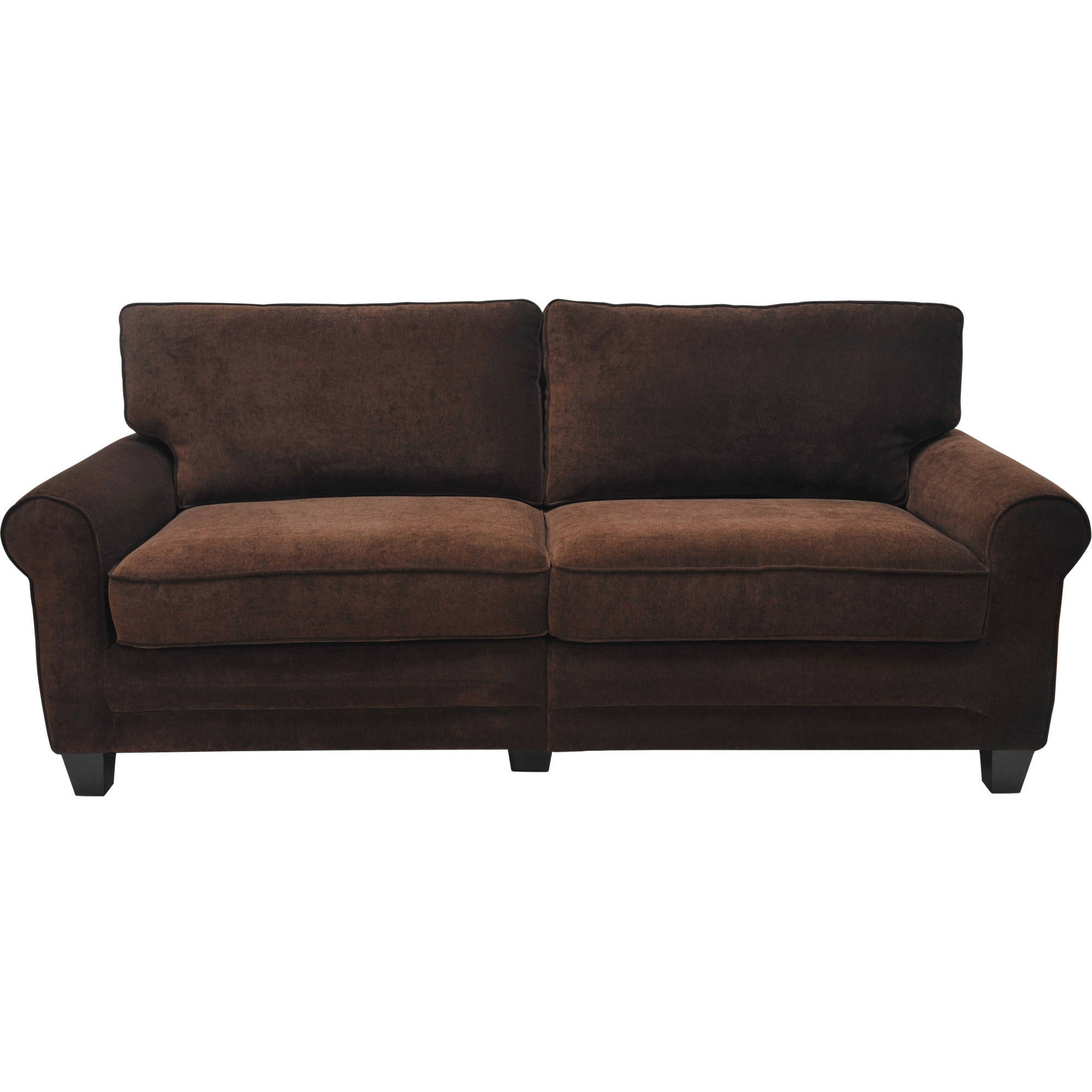 "Mansfield Graphite Velvet Sofa Chairs Inside Preferred Serta Rta Copenhagen Collection 73"" Sofa, Multiple Colors – Walmart (View 12 of 20)"