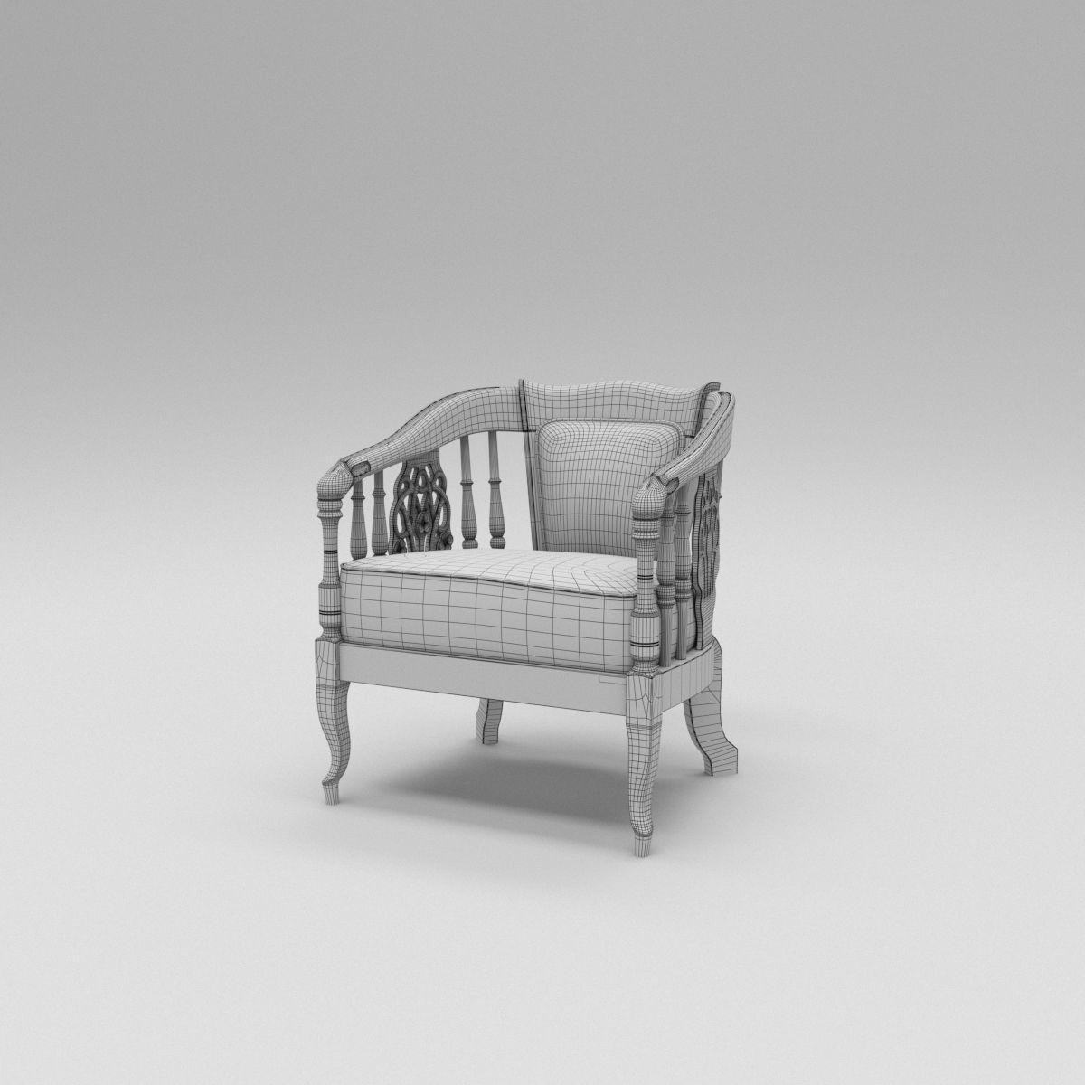 Marissa Sofa Chairs For Latest El Marissa Sofa 3d Model (View 19 of 20)