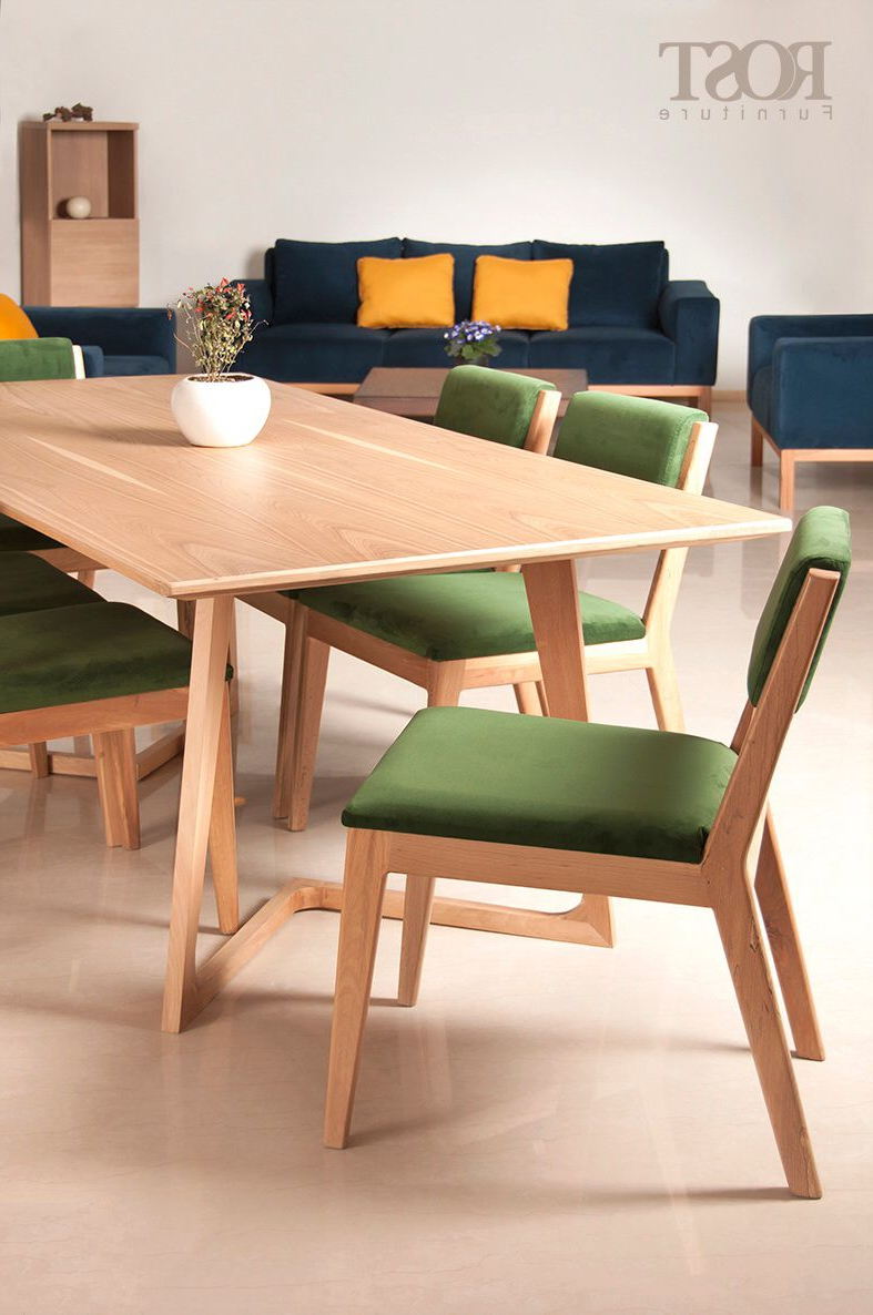 Max Pro Chairs Sky Sofa #shiraz #rost #furniture #sofa #diningtable Throughout Current Dining Table With Sofa Chairs (View 17 of 20)