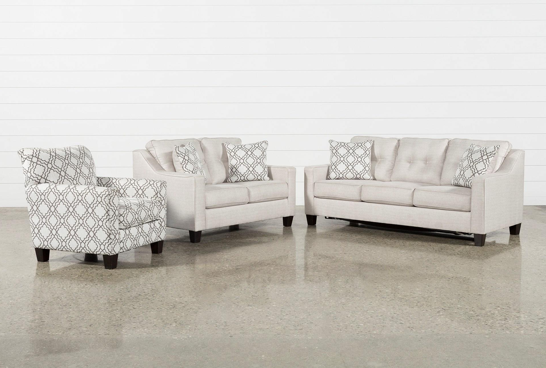 Mcdade Ash Sofa Chairs Throughout Well Known 3 Piece Living Room Set Casta Products Pinterest Sofa And Small (View 5 of 20)