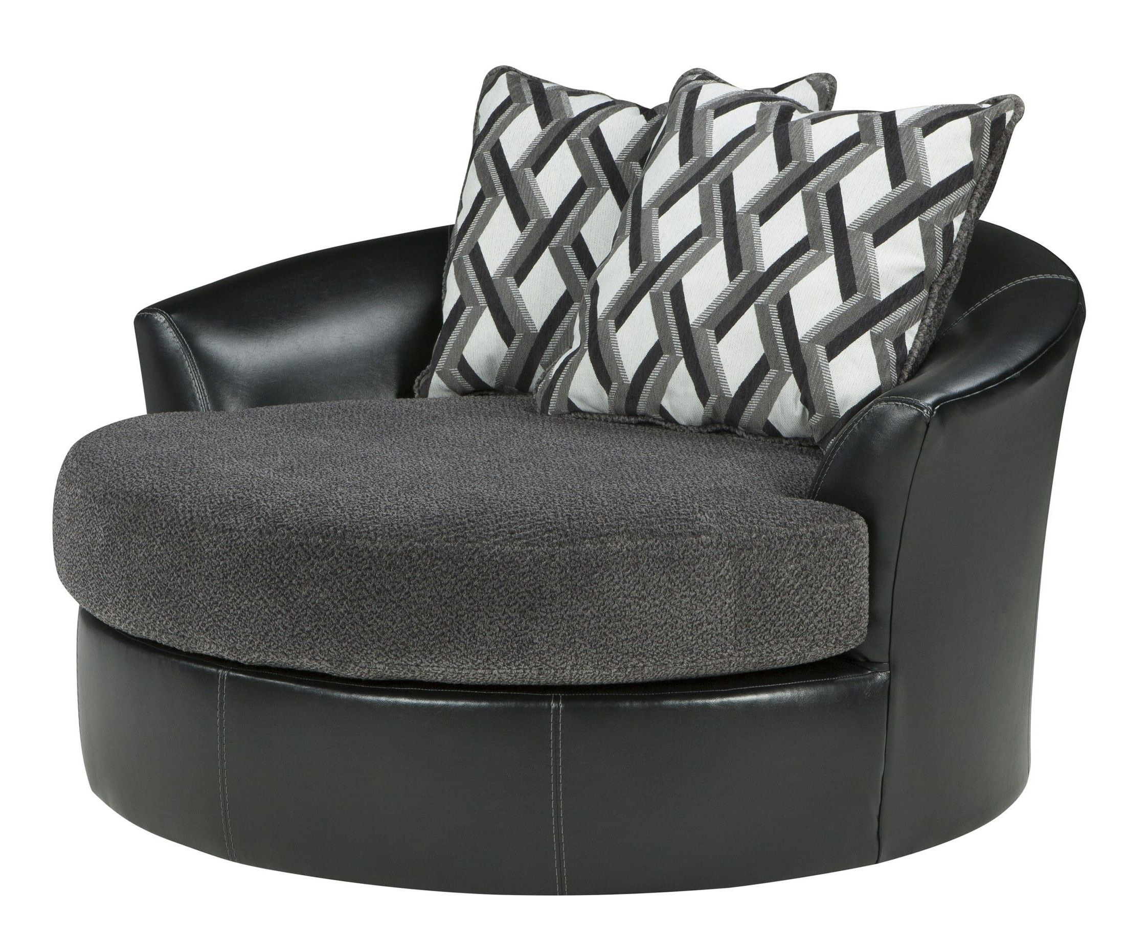 Mesa Foam Oversized Sofa Chairs Regarding Current Kumasi Smoke Oversized Swivel Accent Chair (Gallery 15 of 20)