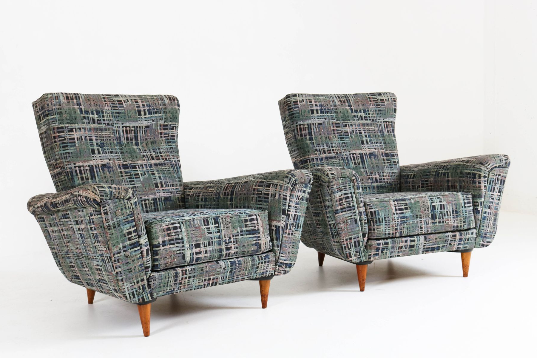 Mid Century Lounge Chairstheo Ruth For Artifort, 1950S, Set Of 2 Regarding Popular Theo Ii Swivel Chairs (Gallery 7 of 20)
