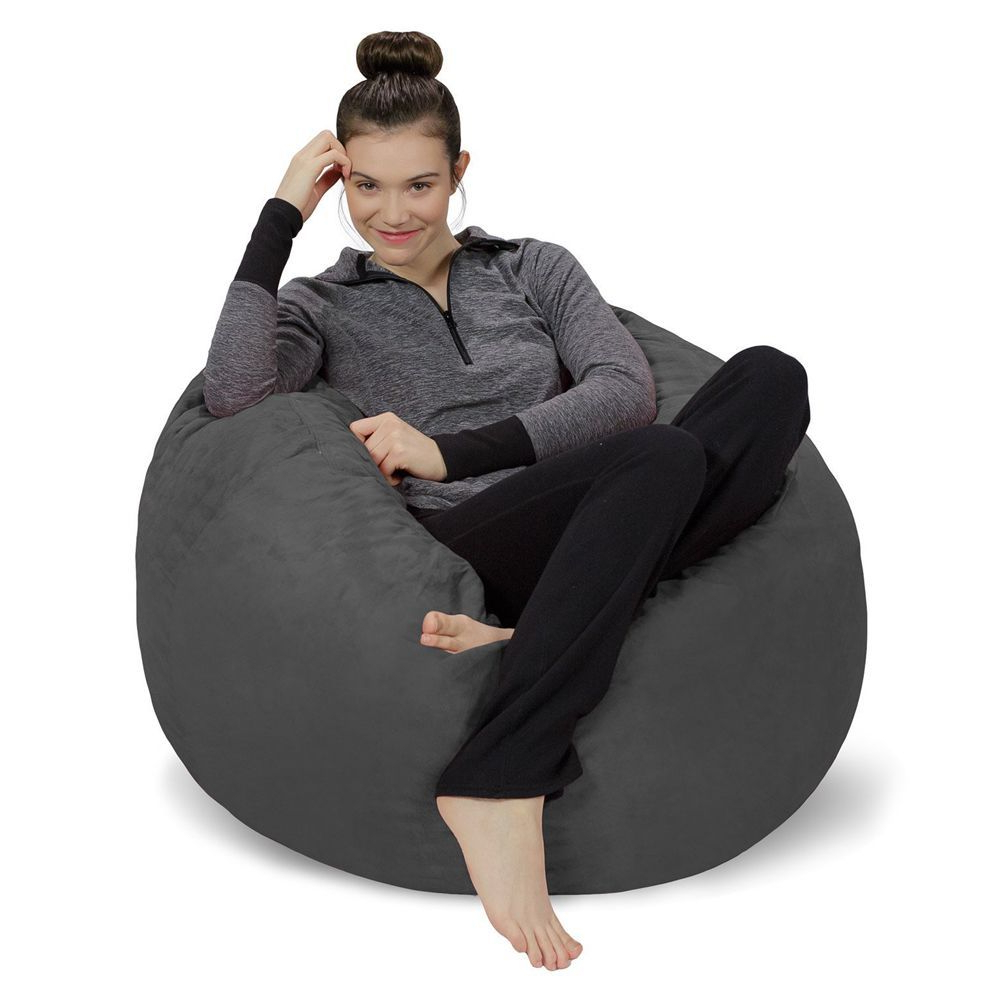 Most Current Bean Bag Sofa Chairs Within 8 Best Bean Bag Chairs For Kids In 2018 – Small & Large Bean Bag (View 17 of 20)