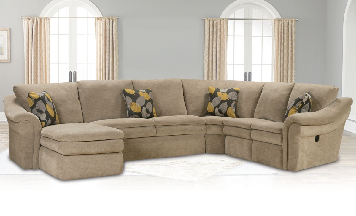 Most Current Devon Ii Arm Sofa Chairs In Devon 4 Piece Sectional Sofa – Living Room (View 19 of 20)