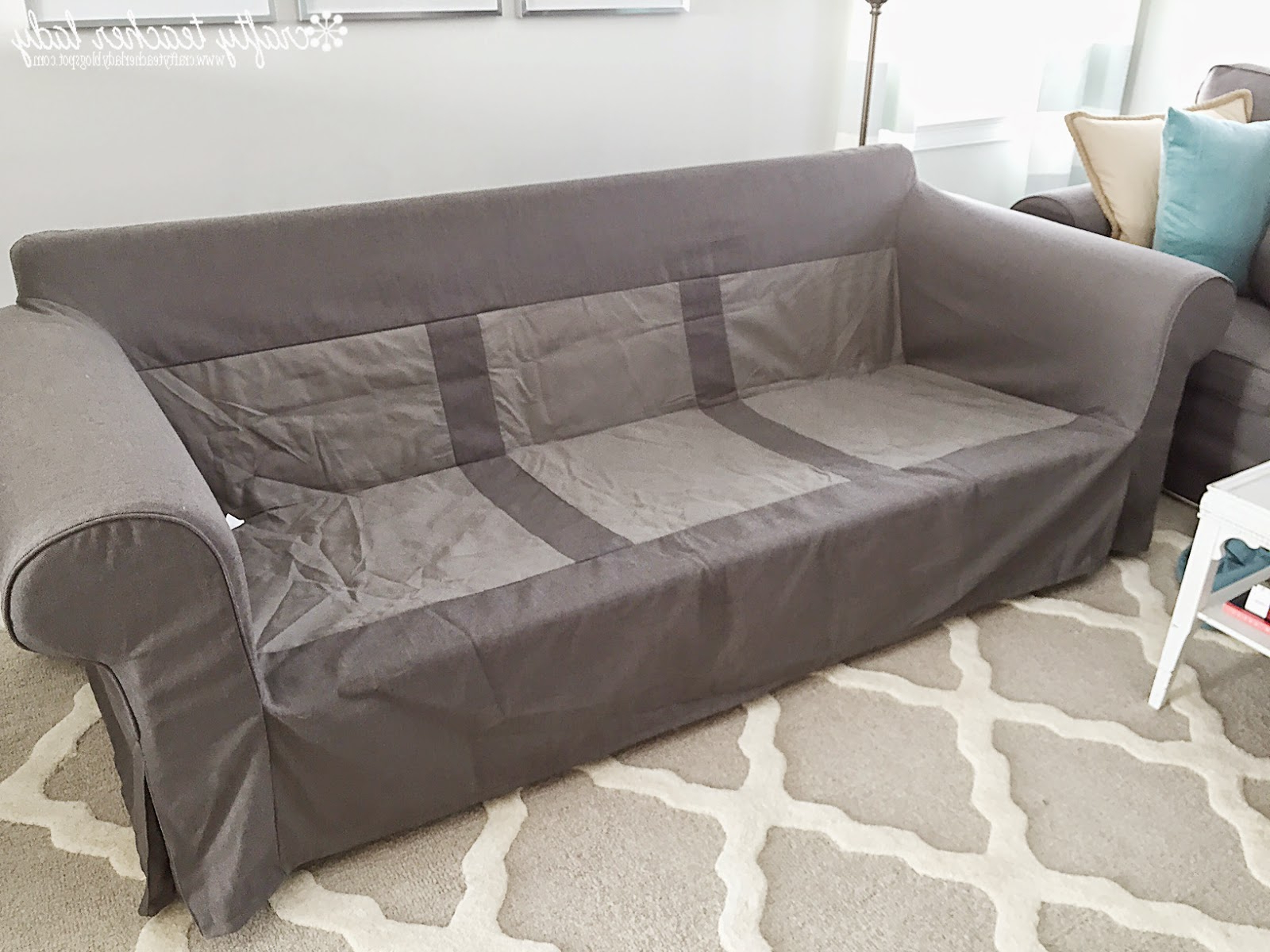 Most Current Furniture: Fresh New Look Ektorp Slipcovers For Your Living Room Throughout Sofa And Chair Slipcovers (View 10 of 20)