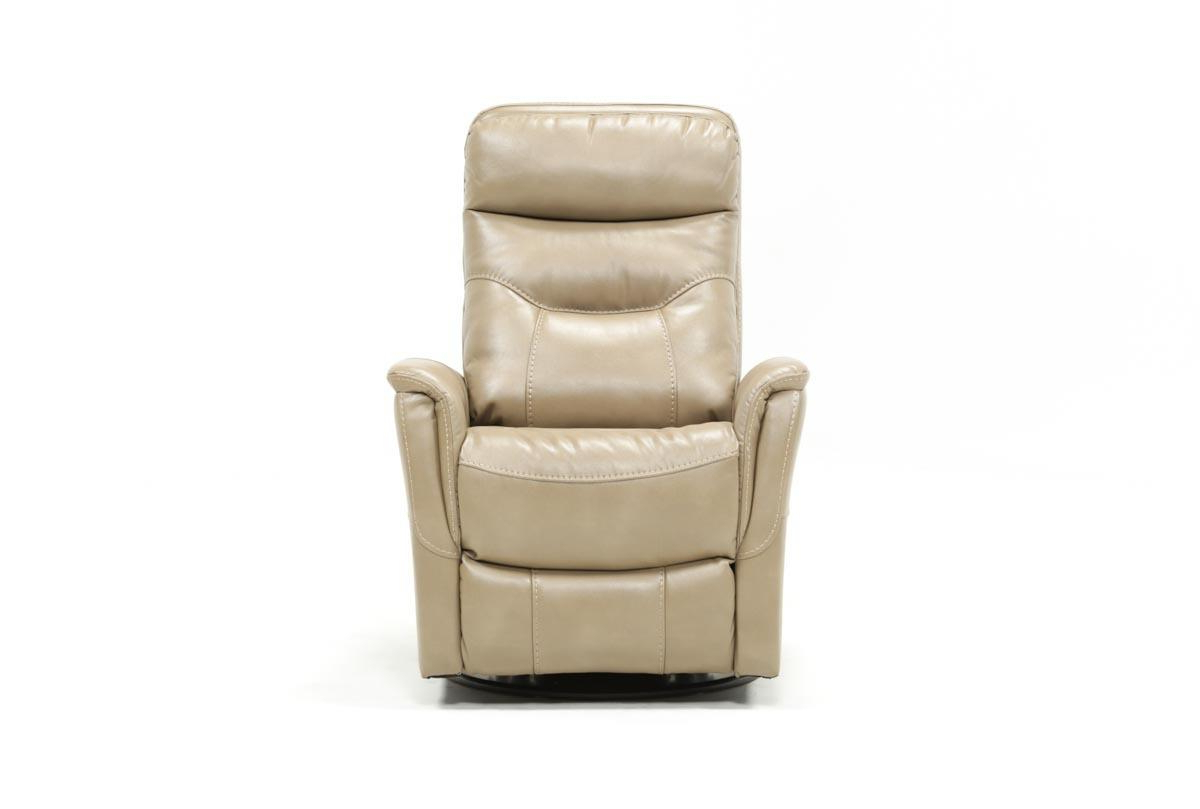 Most Current Gannon Linen Power Swivel Recliners Throughout Gannon Linen Power Swivel Recliner W/built In Battery (View 1 of 20)