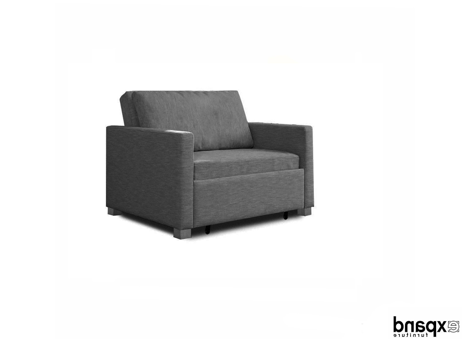 Most Current Harmony – Single Sofa Bed With Memory Foam (View 9 of 20)