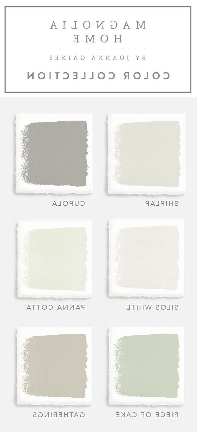 Most Current Joanna Gaines Paint Colors (View 14 of 20)