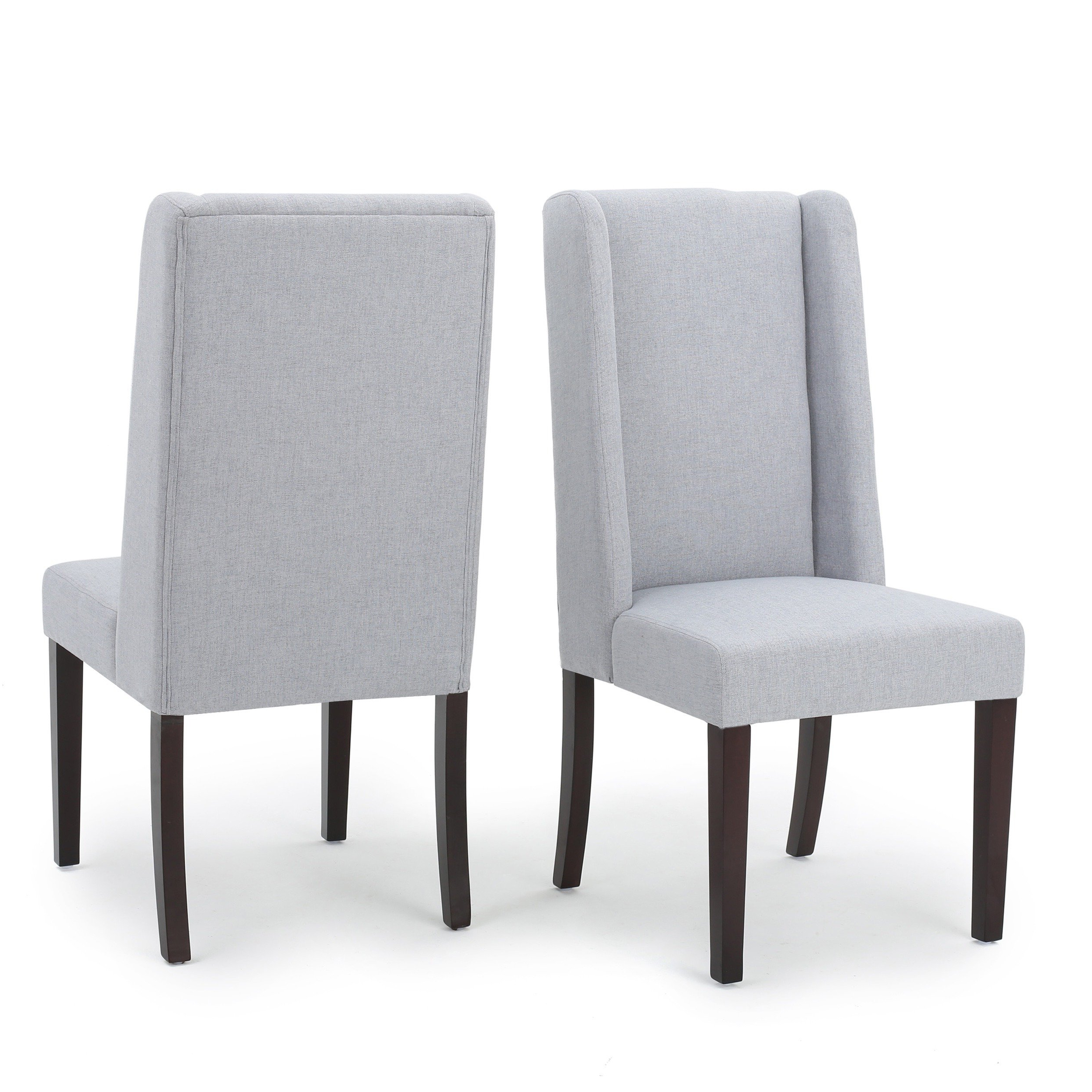 Most Current Rory Sofa Chairs Within Shop Rory Wing Back Fabric Dining Chair (Set Of 2)Christopher (View 8 of 20)