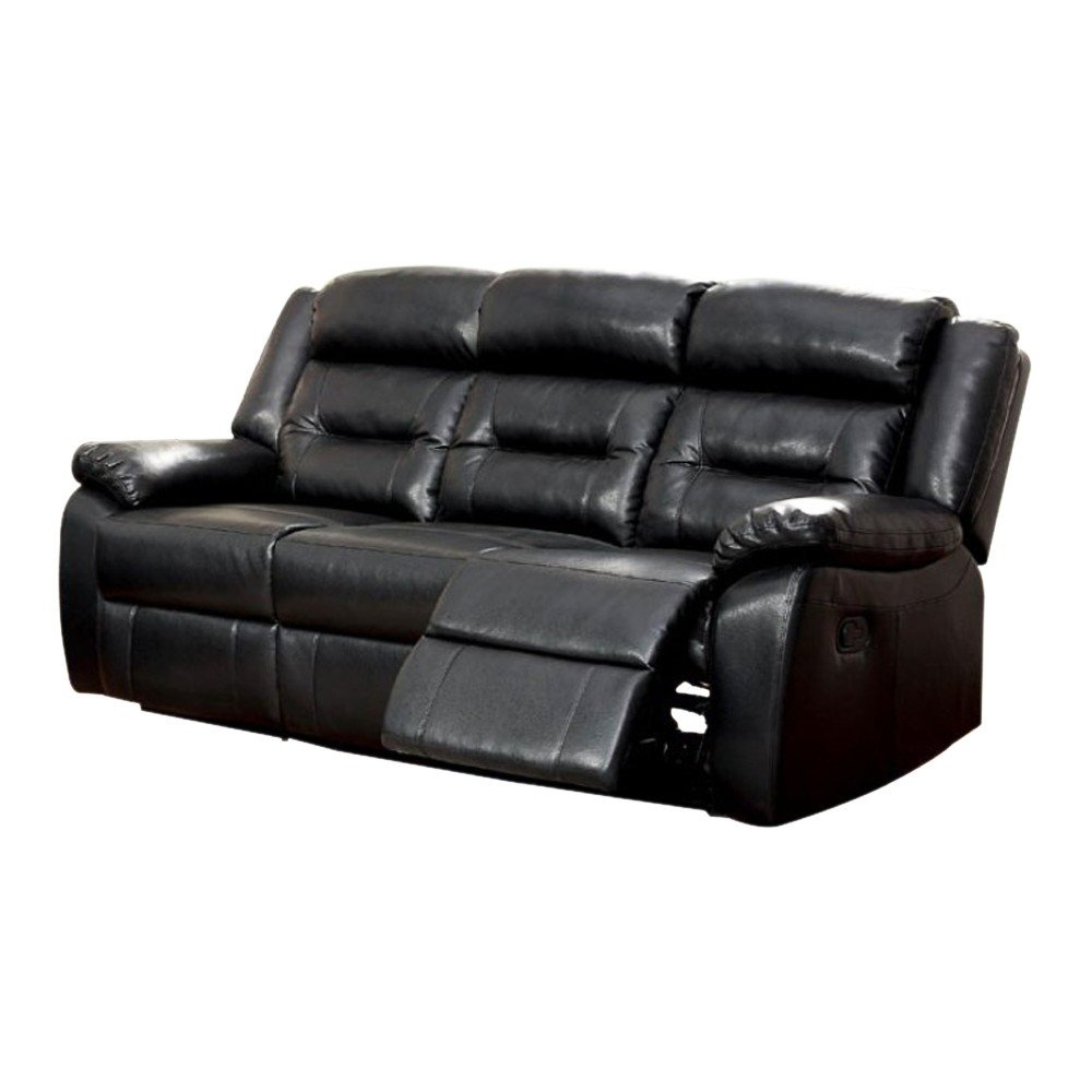 Most Current Shop Sheldon Motion Sofa With Black Bonded Leather Match – Free Within Sheldon Oversized Sofa Chairs (View 7 of 20)