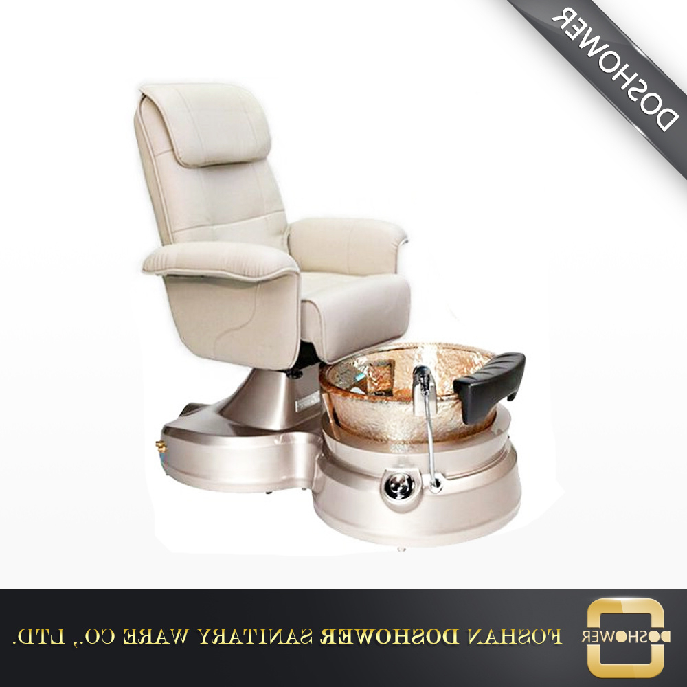 Most Popular China Jacuzzi Foot Spa Sofa Chair With Magnetic Jet For Nail Salon With Foot Massage Sofa Chairs (Gallery 16 of 20)