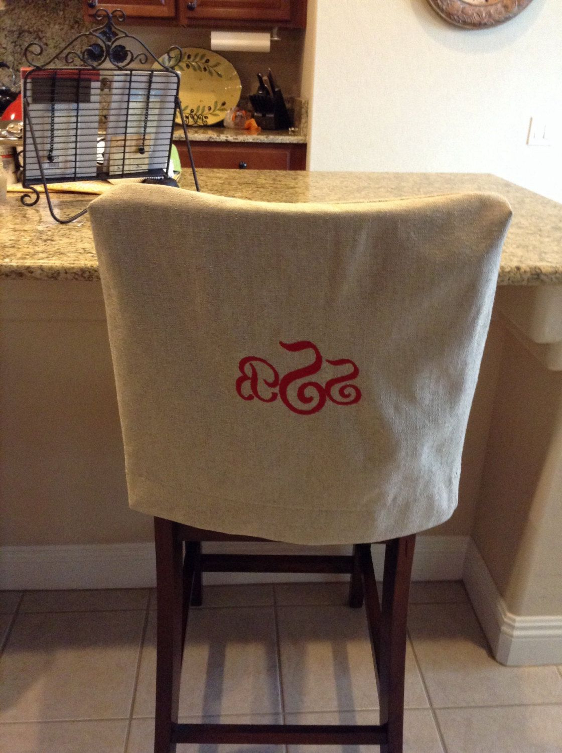 Most Popular Covers For Sofas And Chairs Intended For Monogrammed Chair Back Cover (View 10 of 20)
