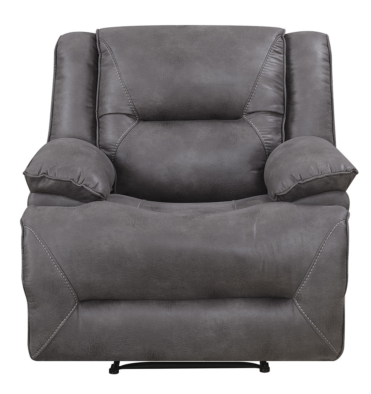 Most Popular Dale Iii Polyurethane Swivel Glider Recliners For Darby Home Co Finlay Recliner (View 11 of 20)