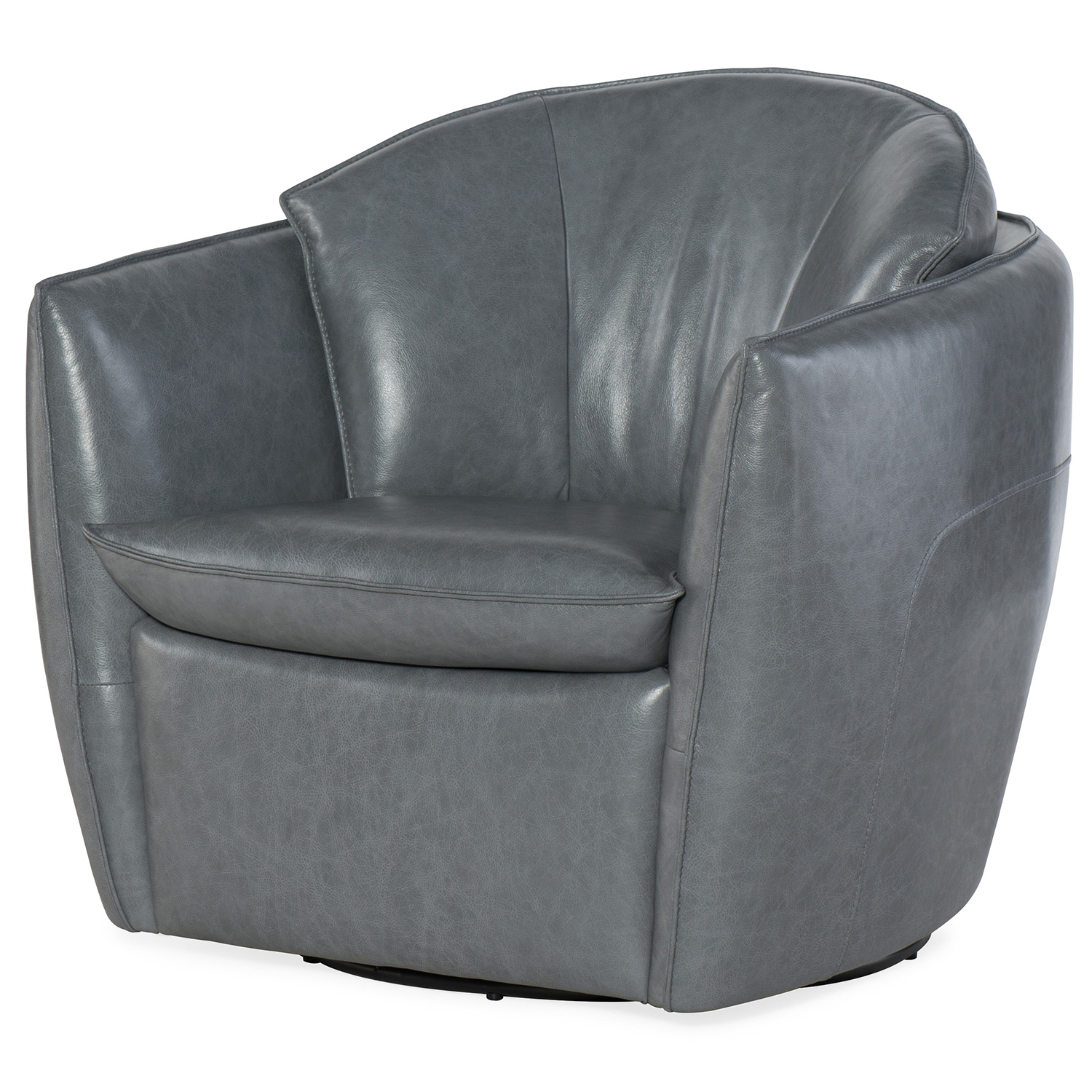 Most Popular Dark Grey Swivel Chairs For Hooker Furniture Vogue Vintage Dark Gray Swivel Chair Cc213 Sw (View 4 of 20)