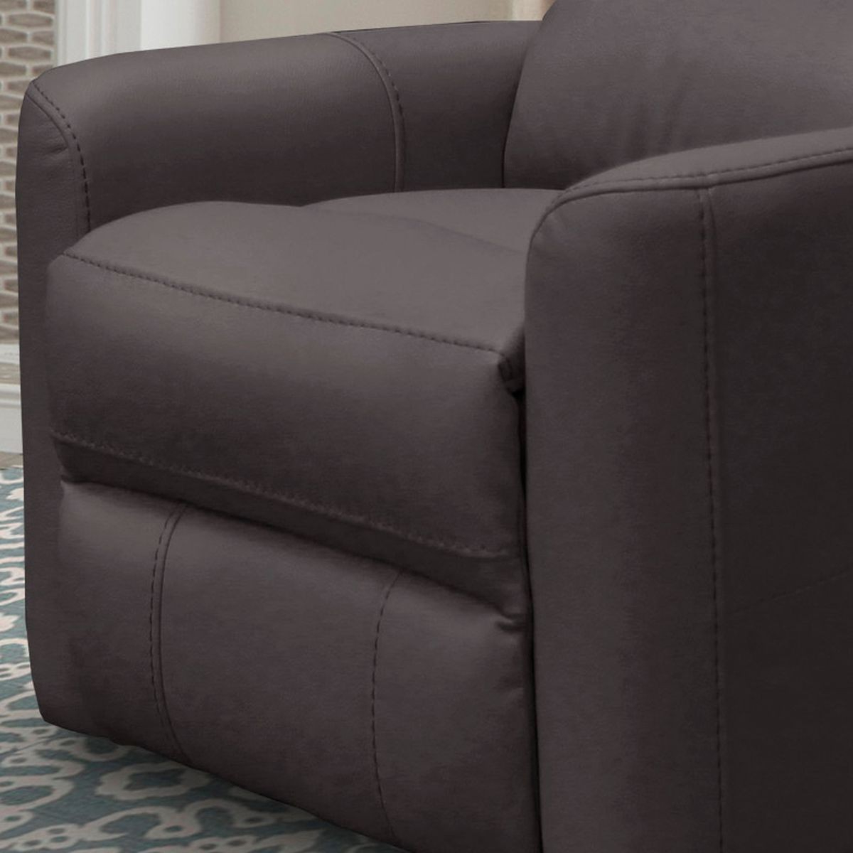 Most Popular Hercules Chocolate Swivel Glider Recliners Within Parker Living Hercules Anywhere Power Swivel Recliner In Chocolate (View 16 of 20)