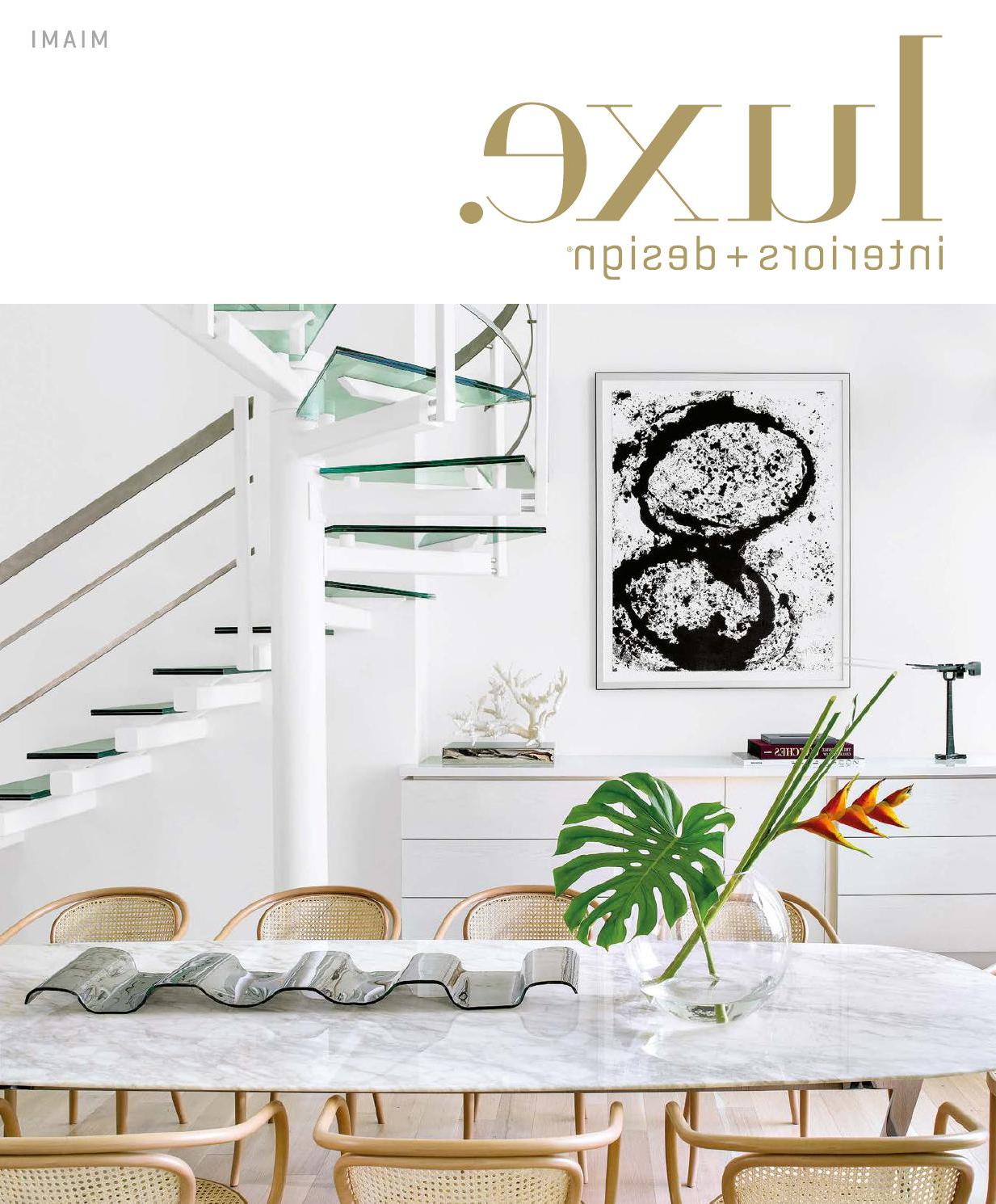 Most Popular Luxe Magazine November 2015 Miamisandow® – Issuu With Regard To Chadwick Tomato Swivel Accent Chairs (View 14 of 20)