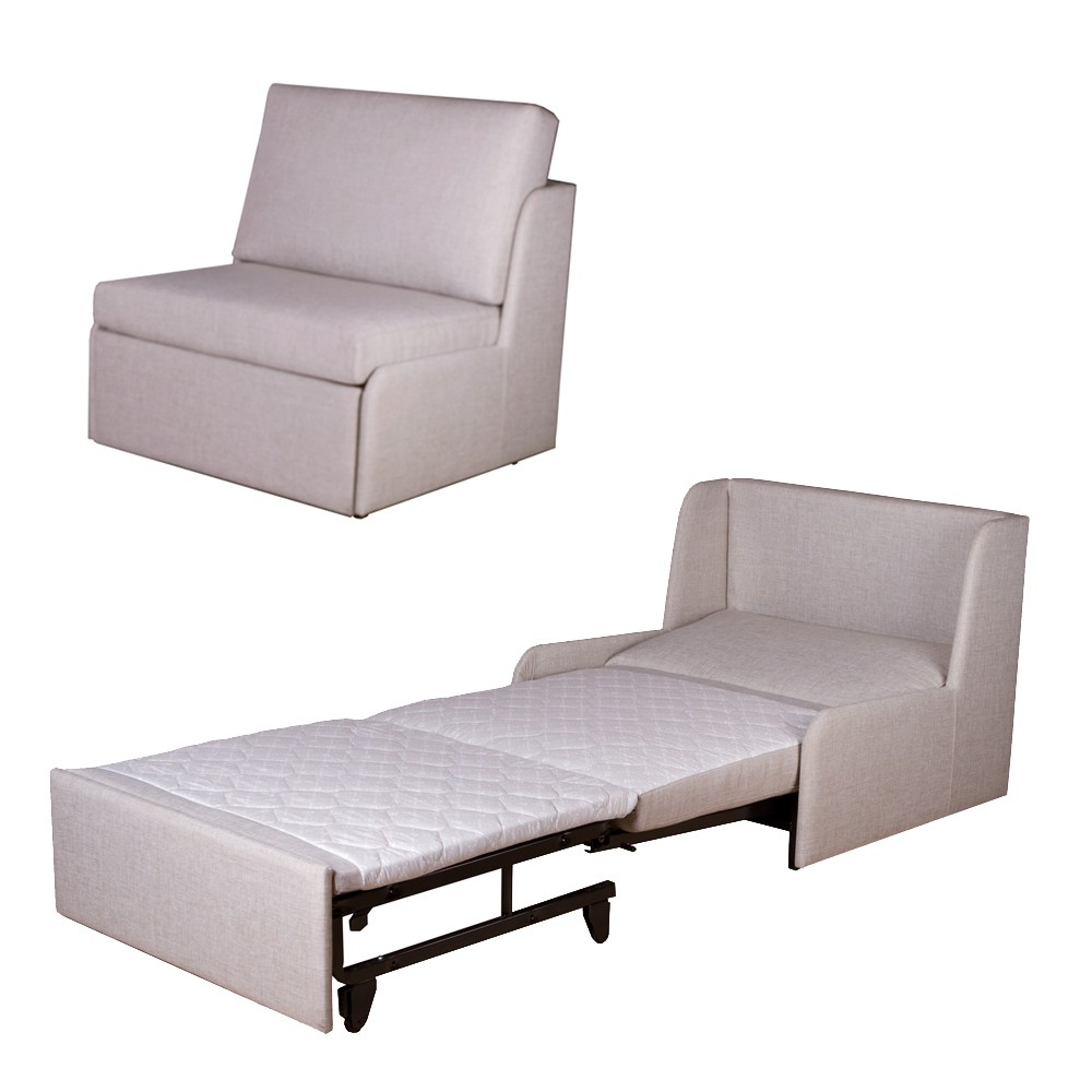 Most Popular Utilize Unused Area Of Your Room With Single Sofa Bed Chair With Regard To Single Chair Sofa Bed (Gallery 1 of 20)