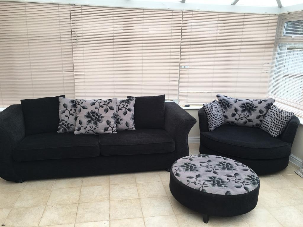 Most Recent 3 Seater Sofa And Cuddle Chairs Within Elegant 3 Seater Sofa And Cuddle Chair – Buildsimplehome (View 4 of 20)